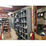 all shelving and storage units located in MRO room