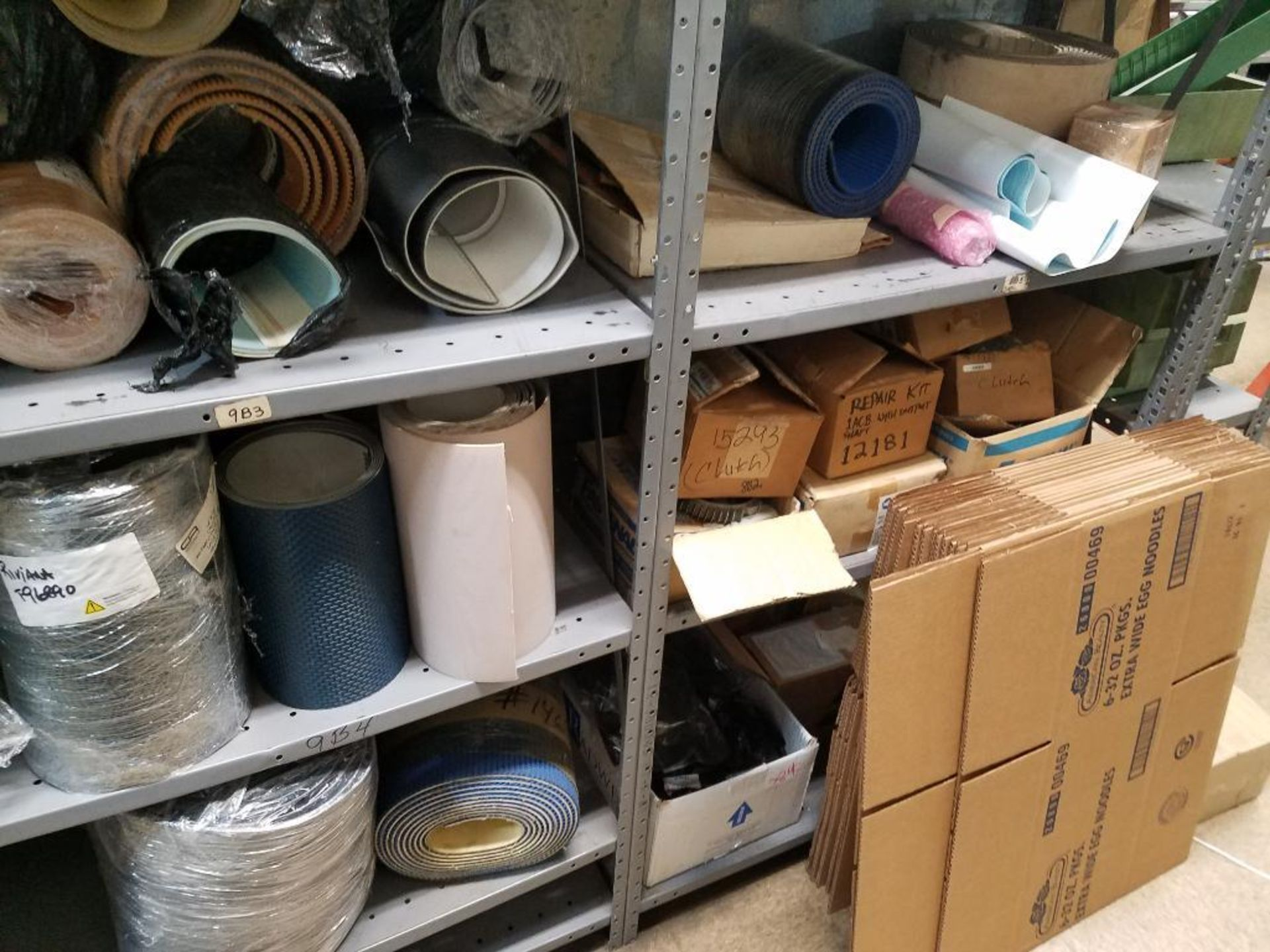 various conveyor belts, and replacement parts - Image 6 of 8