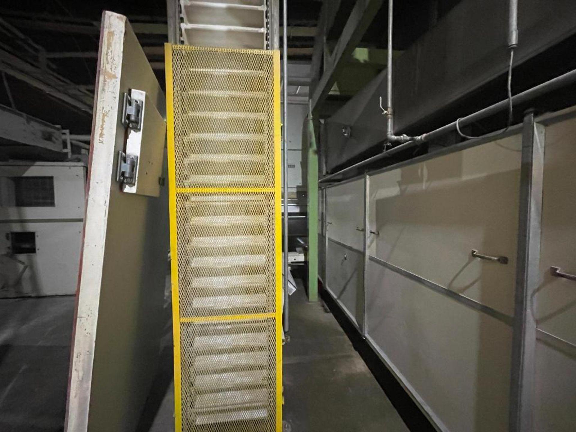 Aseeco overlapping bucket elevator - Image 5 of 14