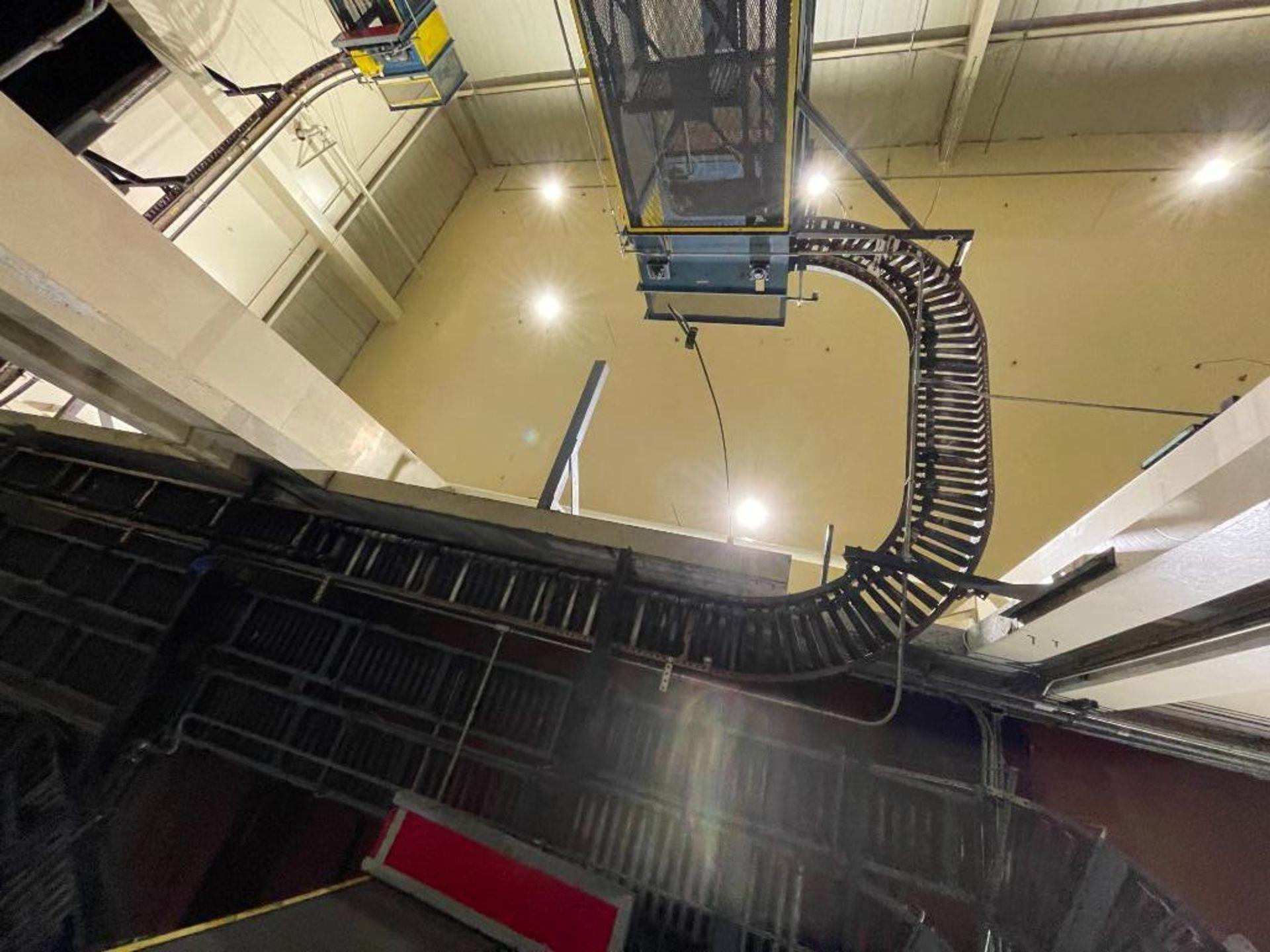 overhead power case conveyor - Image 2 of 5