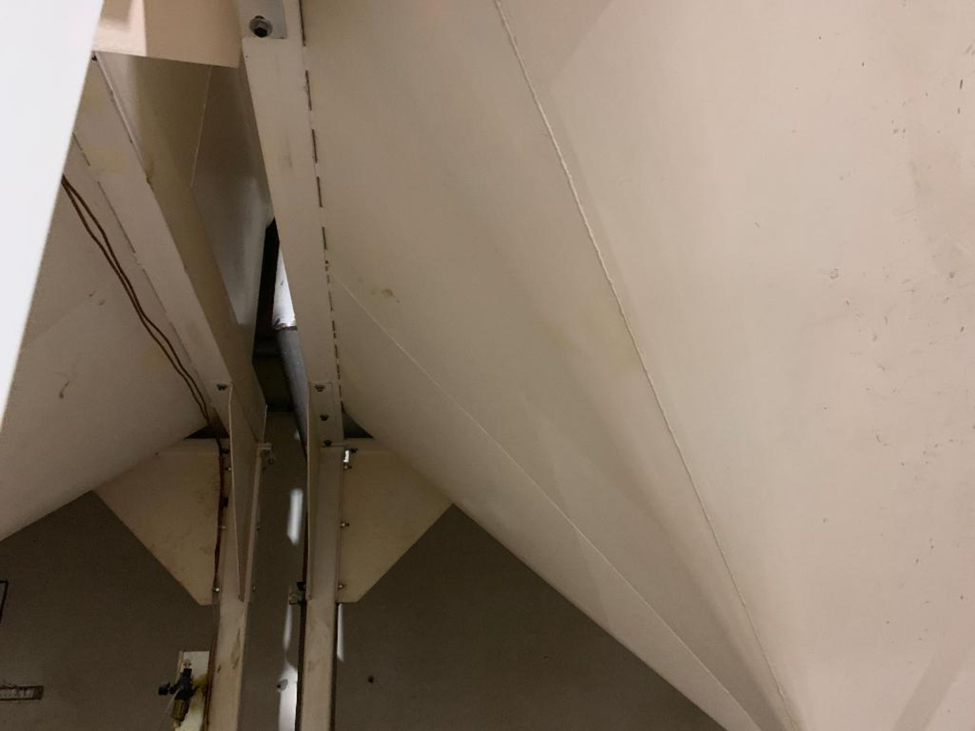 Aseeco mild steel cone bottom bulk storage bin - Image 11 of 27