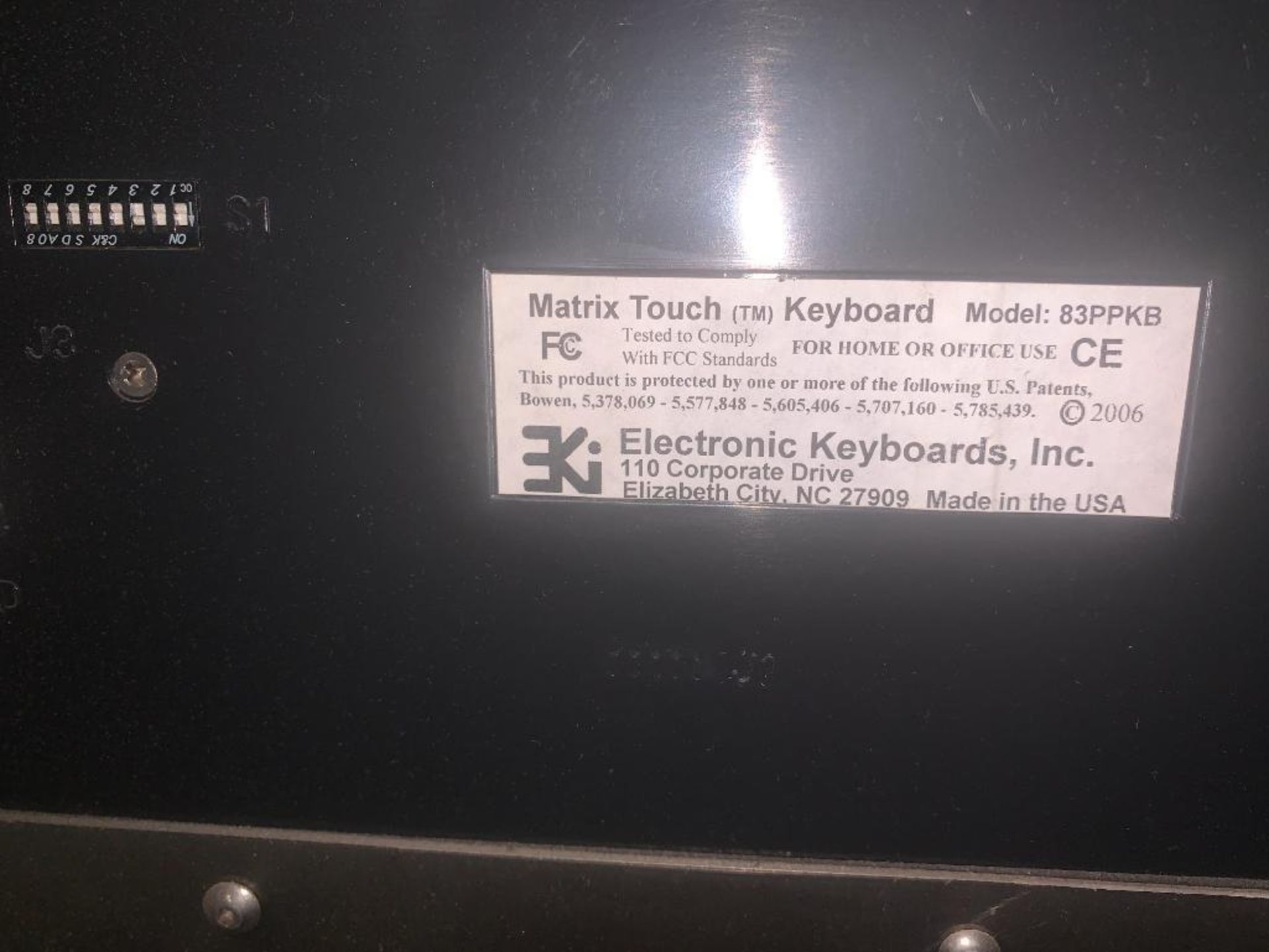stainless steel pedestal control panel - Image 7 of 13