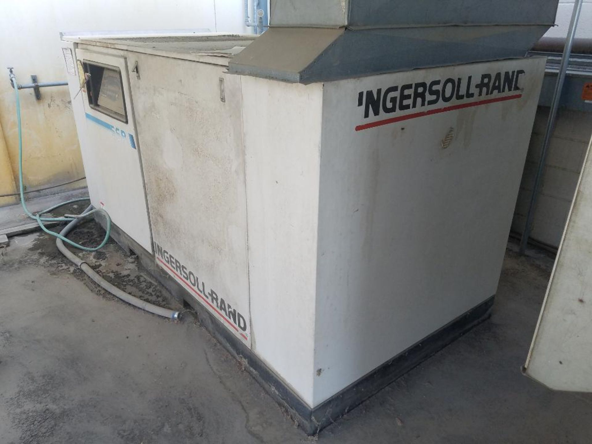 Ingersoll Rand rotary screw air compressor, 75 hp