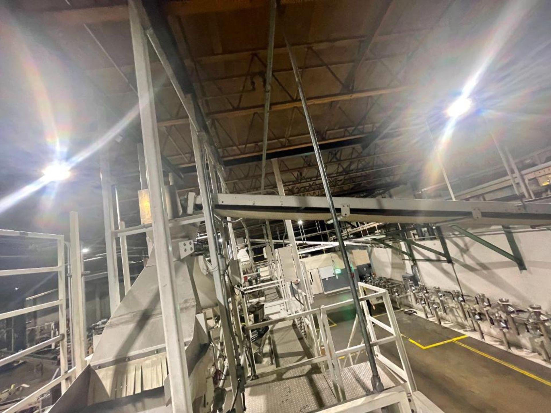 mild steel overhead belt conveyor - Image 4 of 12