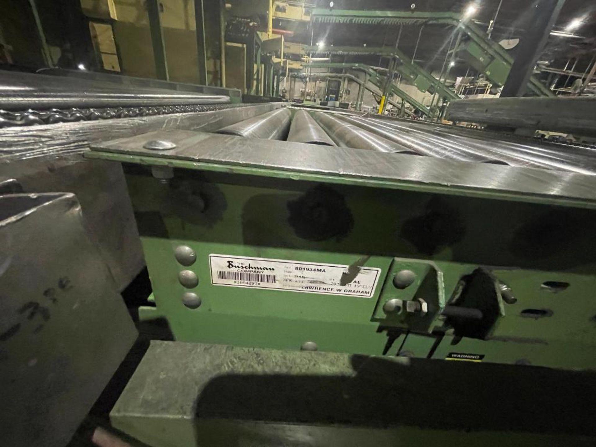 Buschman full pallet conveyor - Image 3 of 12