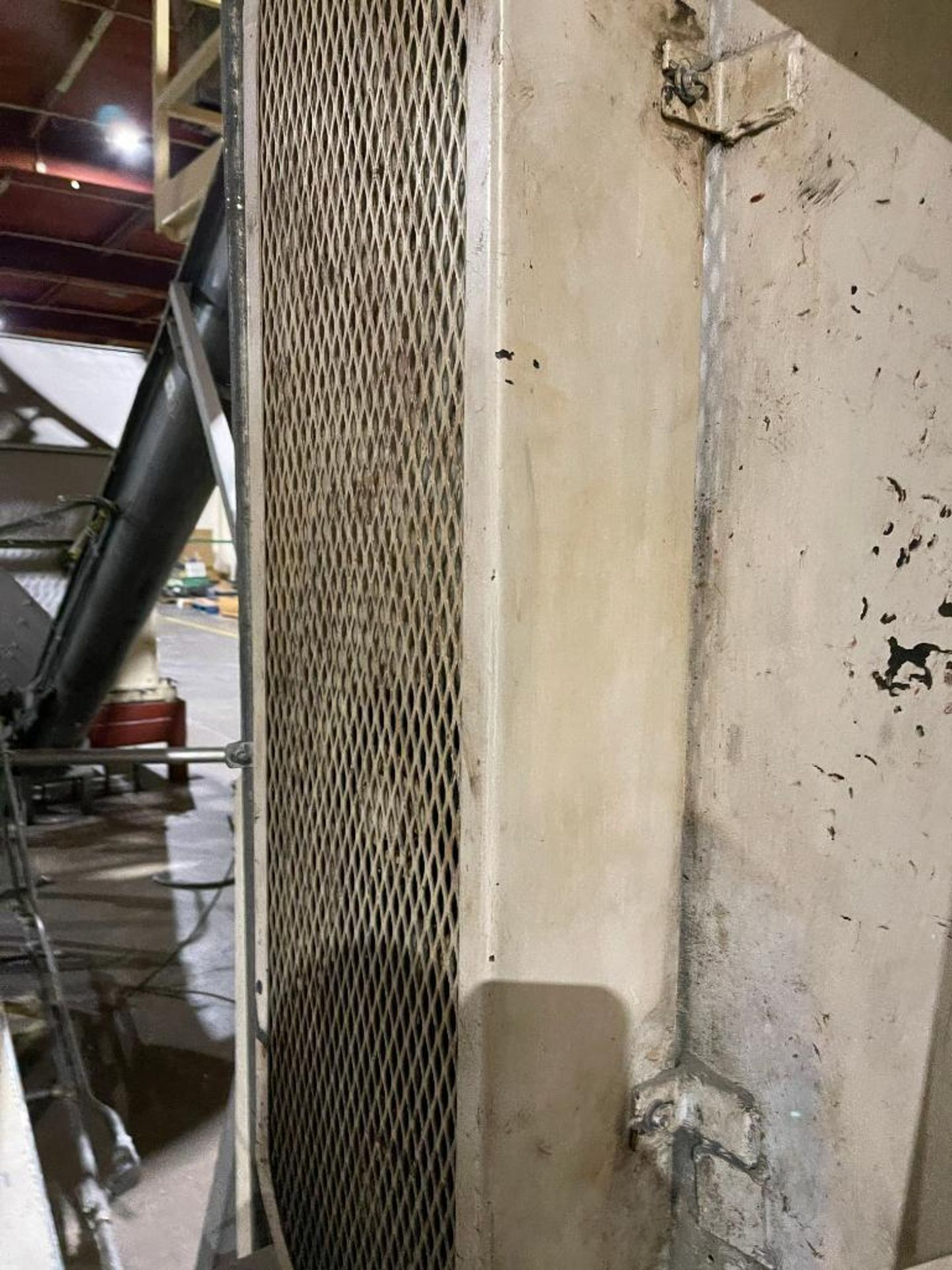 mild steel hopper, chisel bottom, screw auger - Image 10 of 12