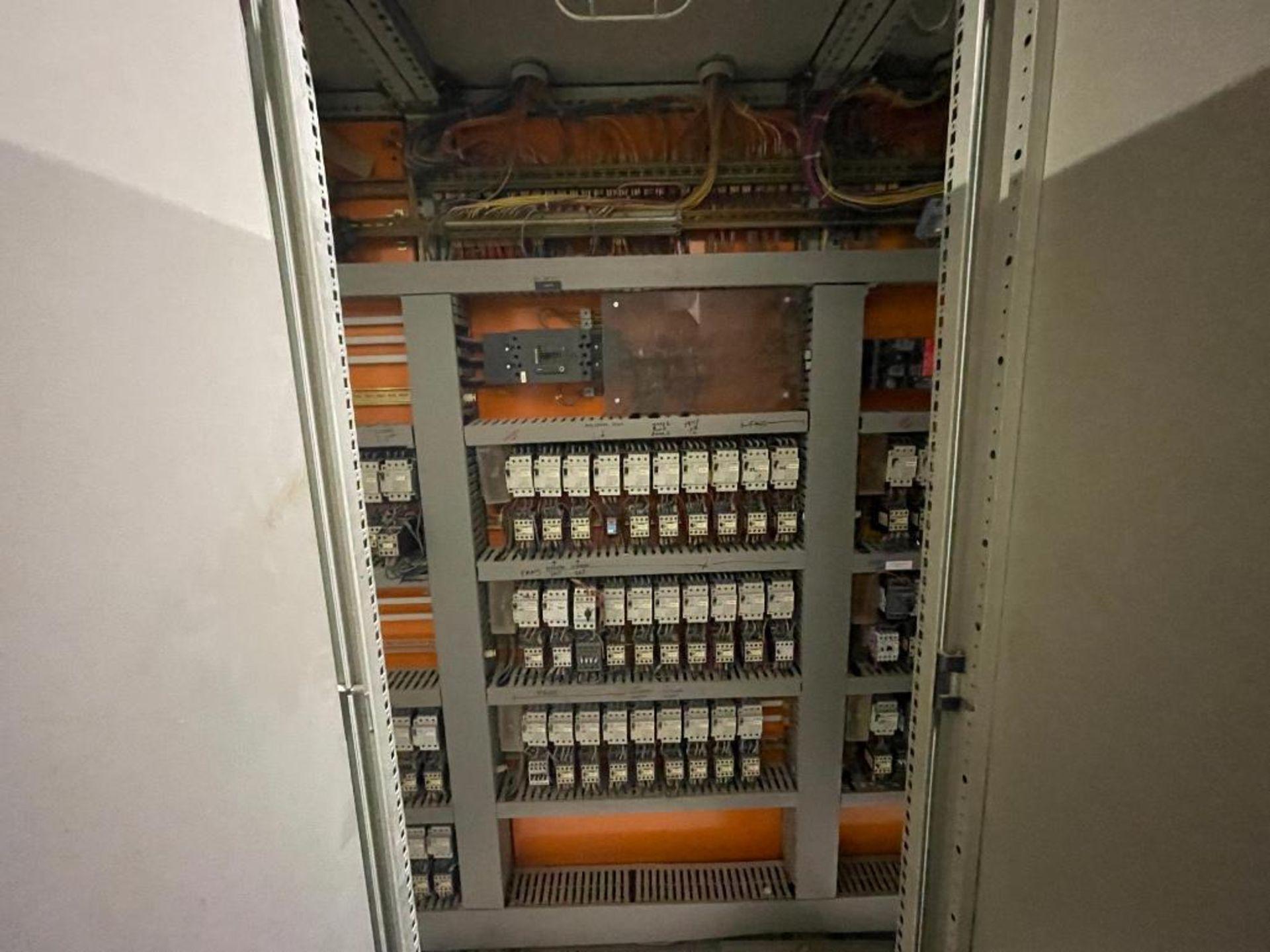 7-door mild steel air conditioned control cabinet, 5-VFD's - Image 29 of 43