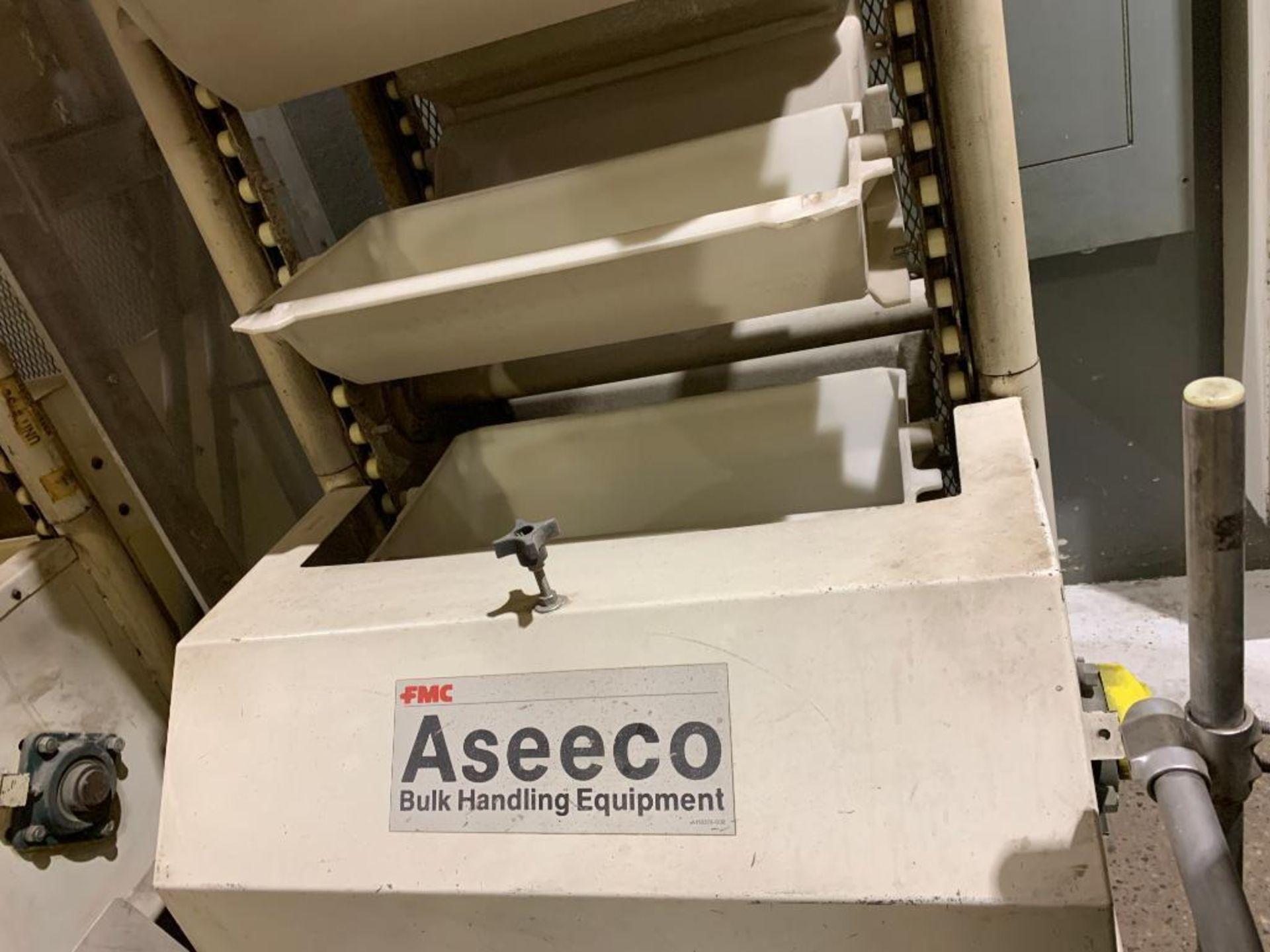 1992 Aseeco horizontal bucket elevator, model ALH-0-24-CP - Image 9 of 18