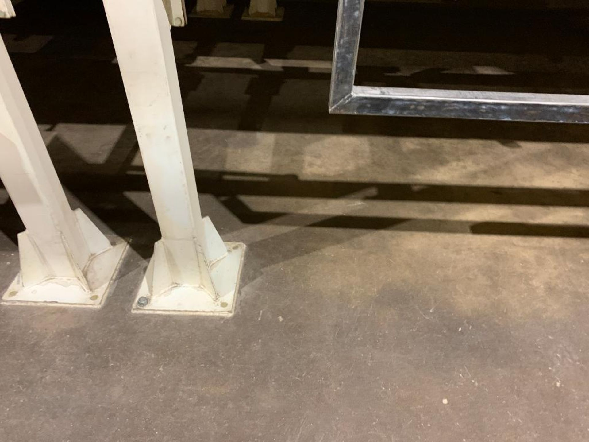 Aseeco mild steel cone bottom bulk storage bin - Image 7 of 25