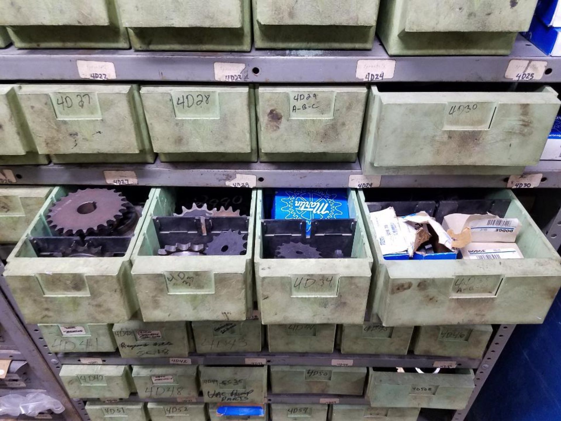 bushings, sheaves, links, chain, couplers, sprockets, and pulleys - Image 9 of 24
