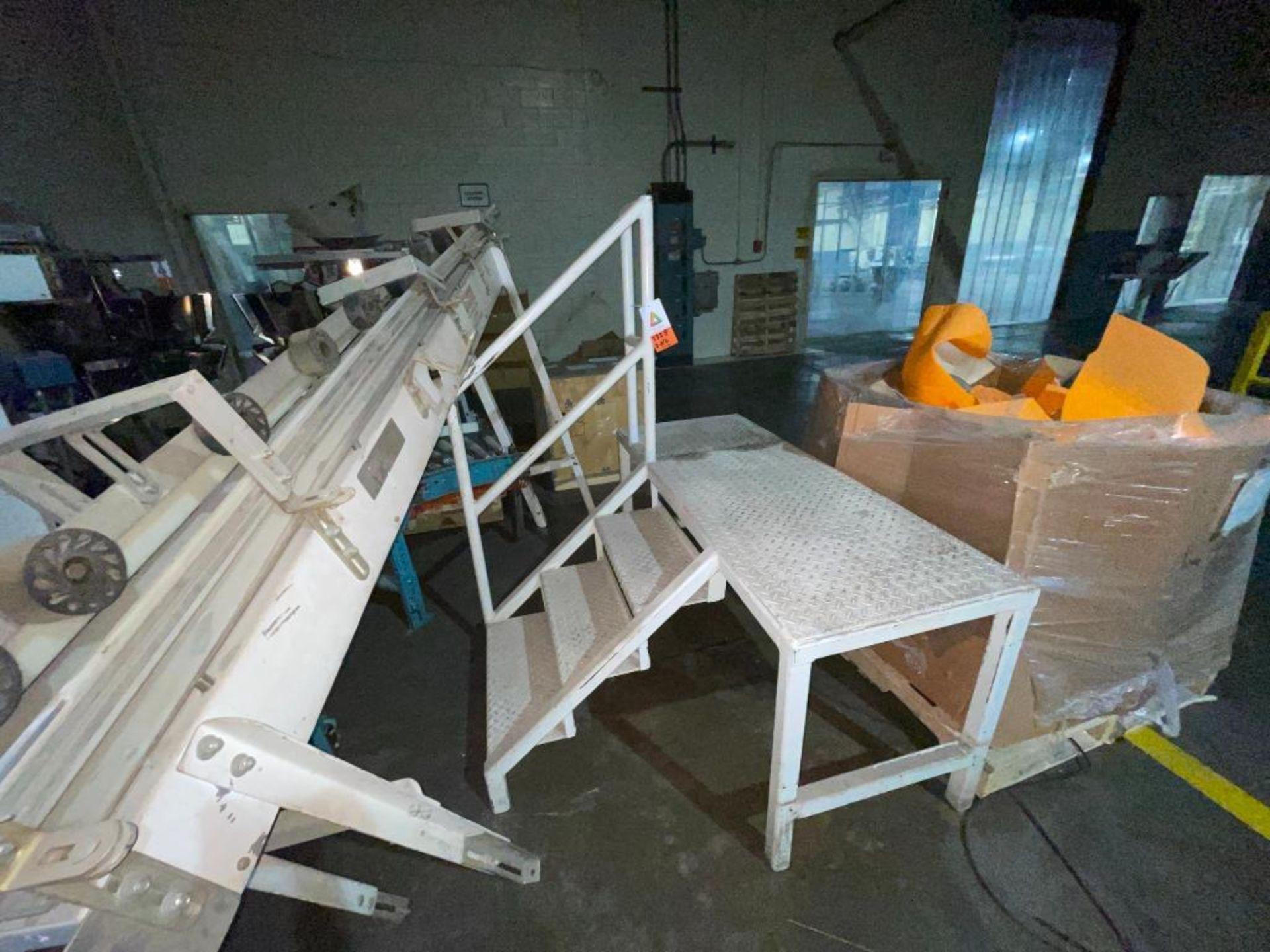 (2) mild steel platforms - Image 3 of 6