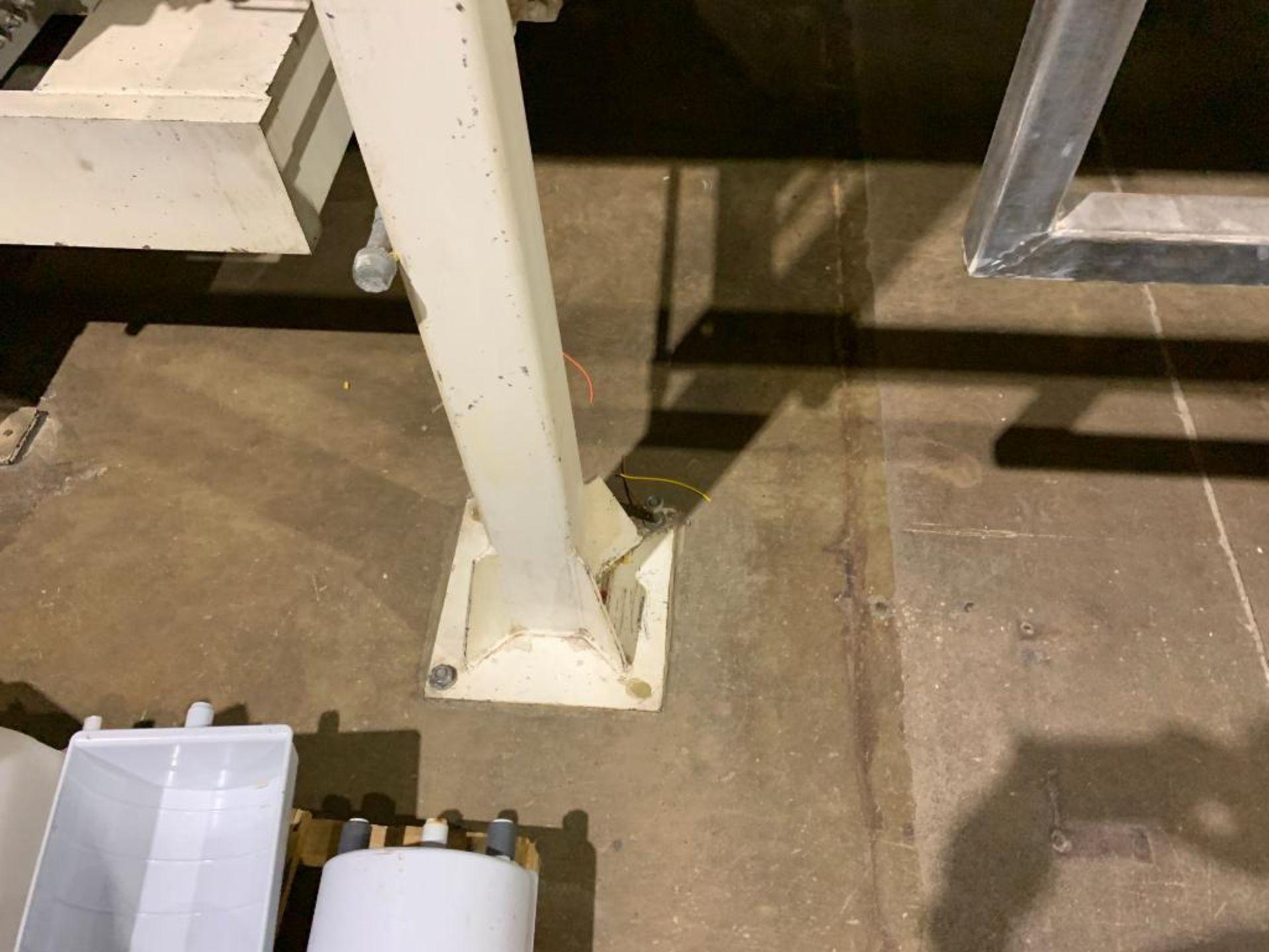Aseeco mild steel cone bottom bulk storage bin - Image 4 of 23