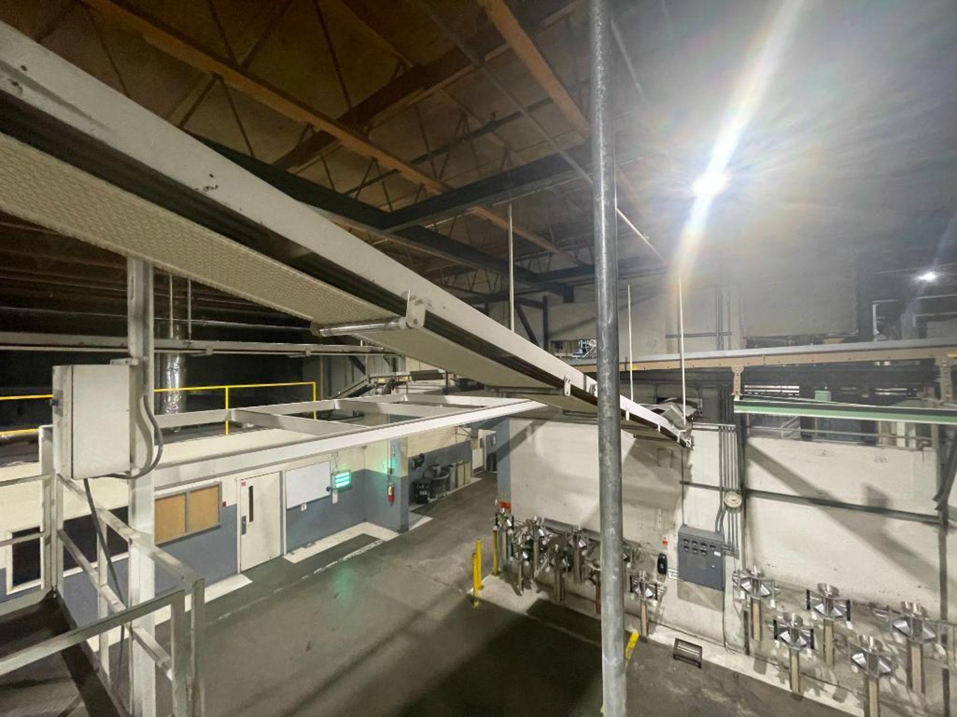 mild steel overhead belt conveyor - Image 5 of 8