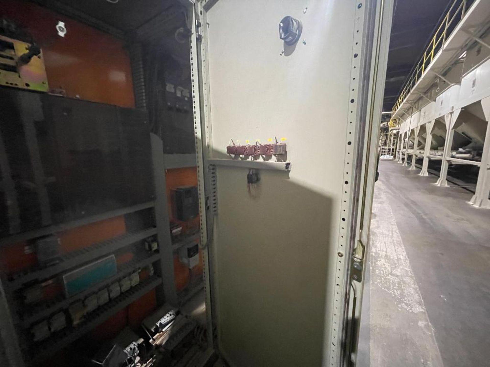 7-door mild steel air conditioned control cabinet, 5-VFD's - Image 14 of 43