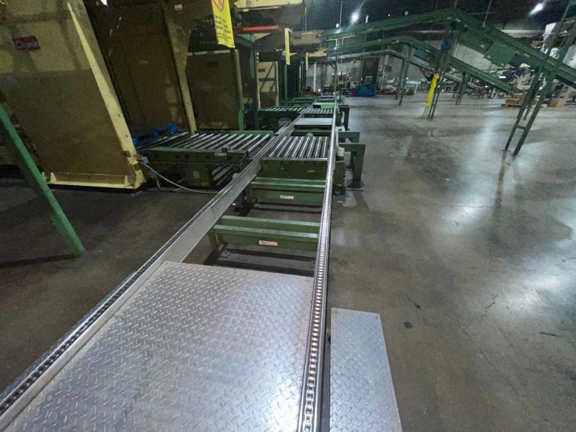 Buschman full pallet conveyor - Image 8 of 12