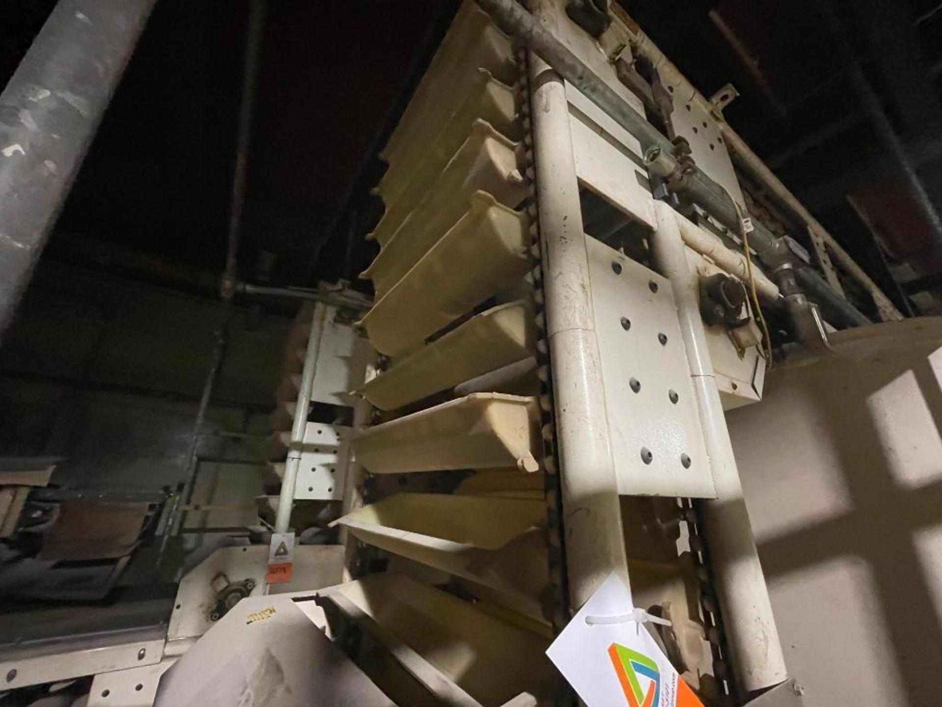 Aseeco horizontal overlapping bucket elevator - Image 2 of 13