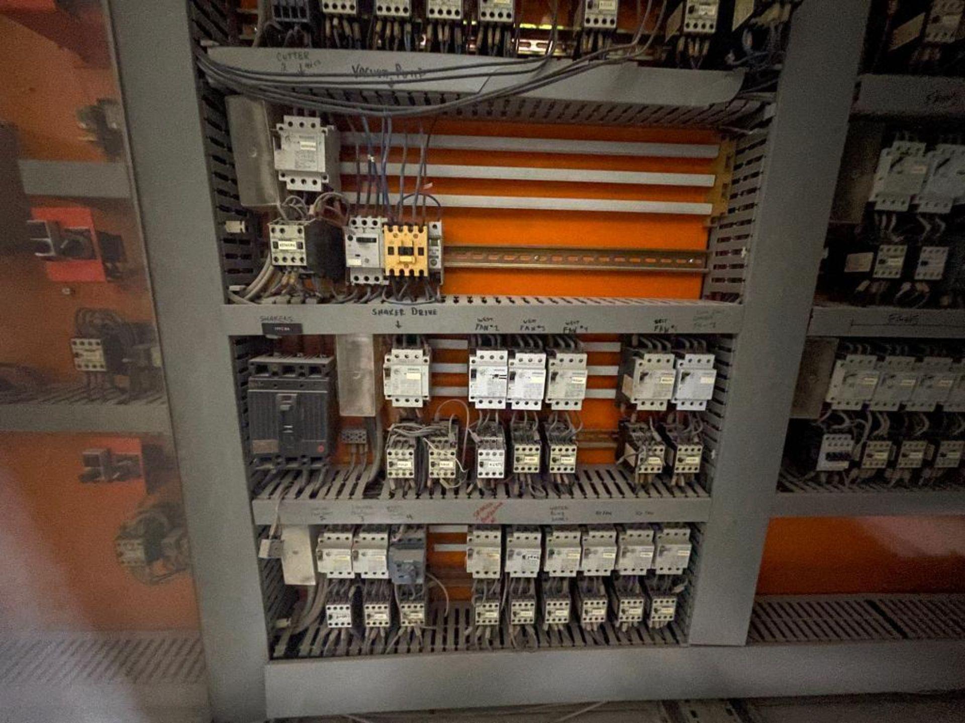 7-door mild steel air conditioned control cabinet, 5-VFD's - Image 27 of 43