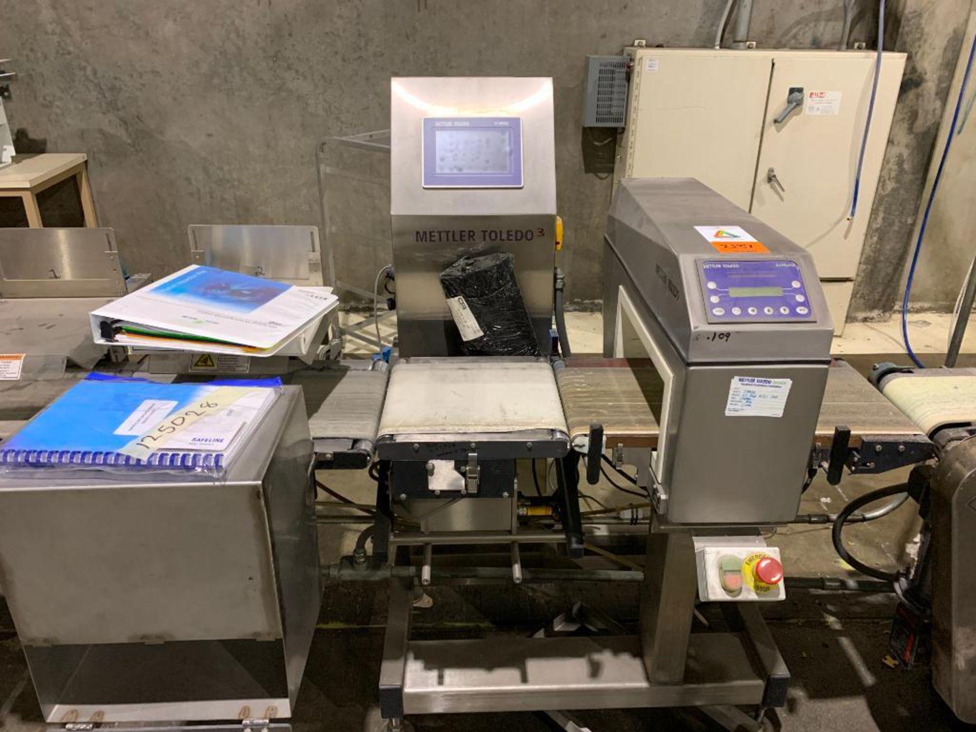 Mettler Toledo CombiChecker combination metal detector and checkweigher, model XE3 - Image 10 of 25