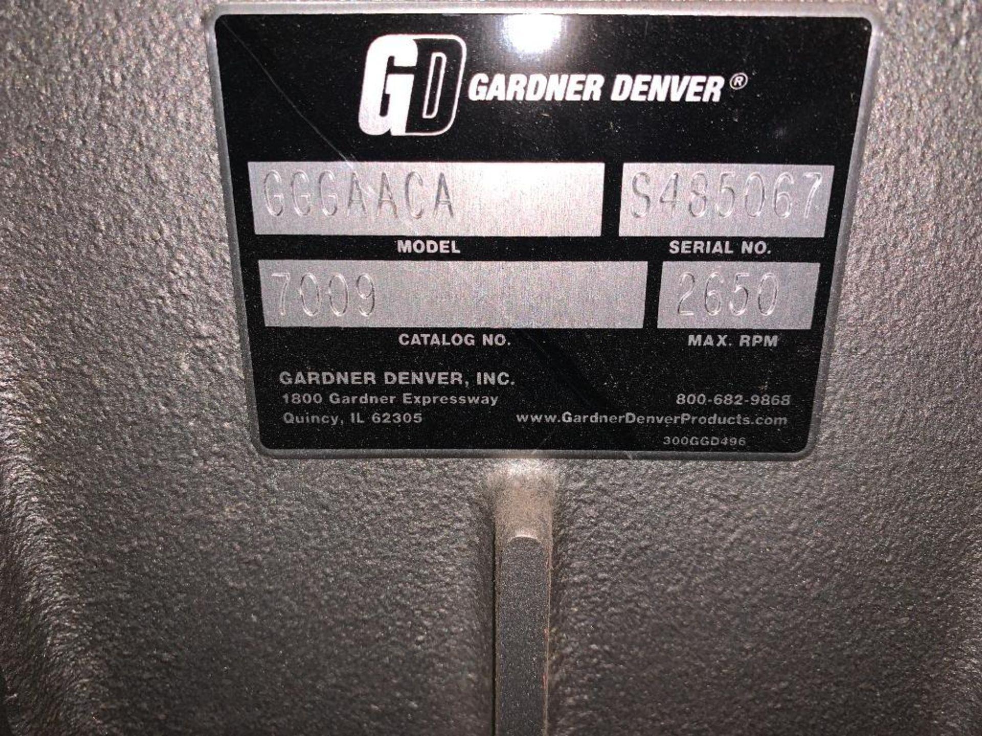 Gardner Denver rotary positive blower - Image 7 of 7
