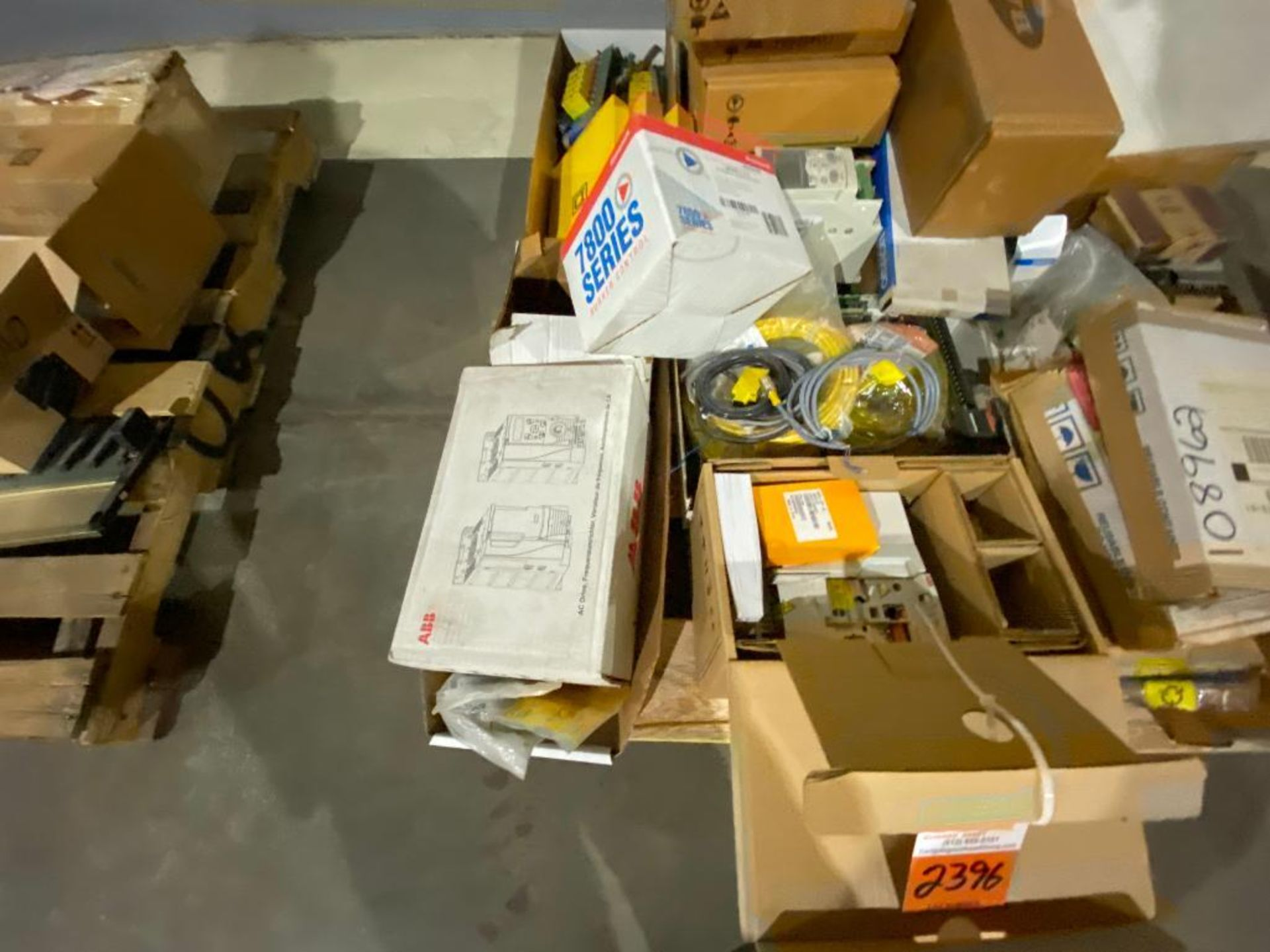 pallet of ABB parts, controllers, cabinets, and control boards - Image 3 of 8