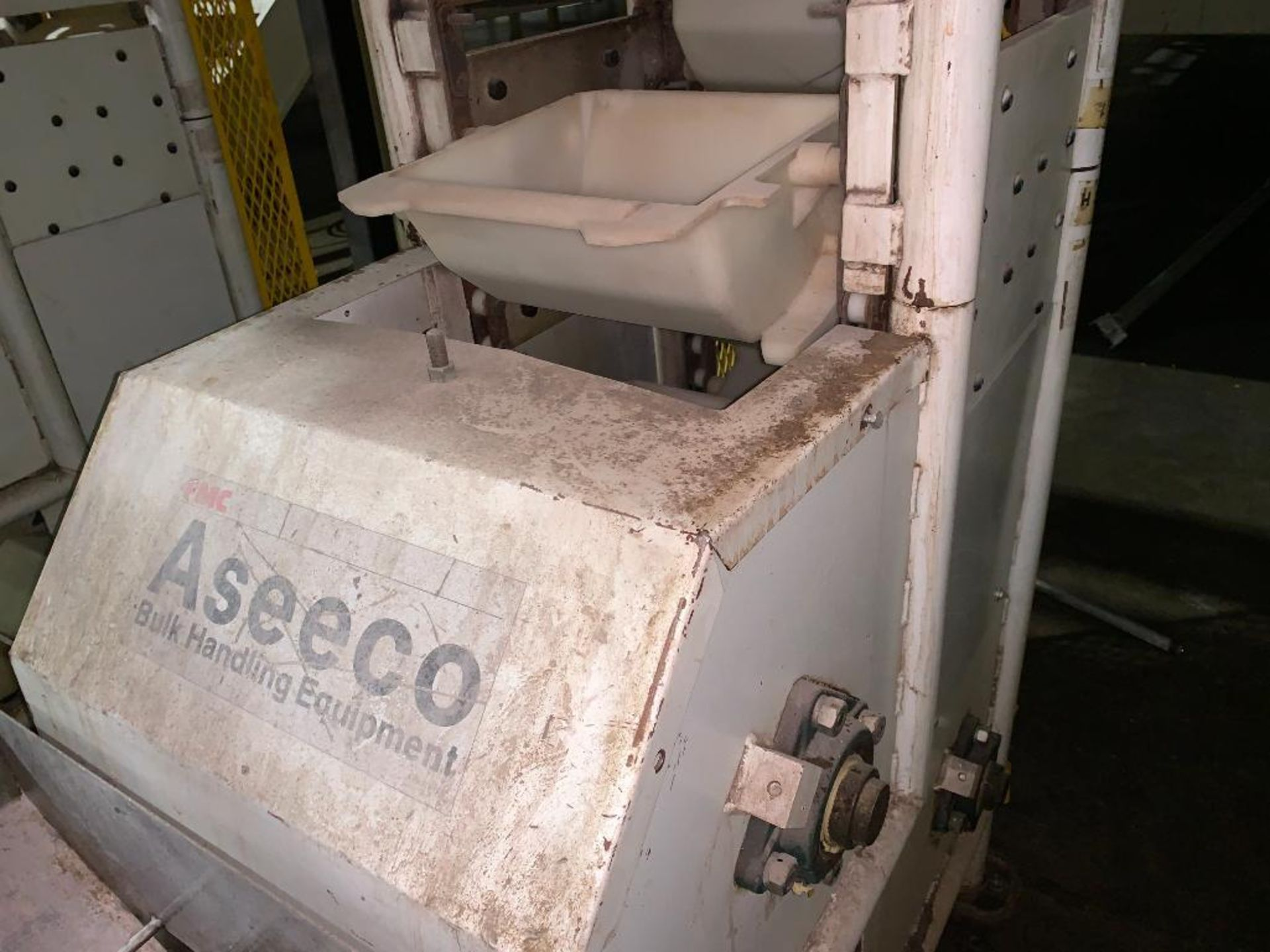 1992 Aseeco overlapping bucket incline conveyor, model ALH-0-12, Z-shape - Image 13 of 14