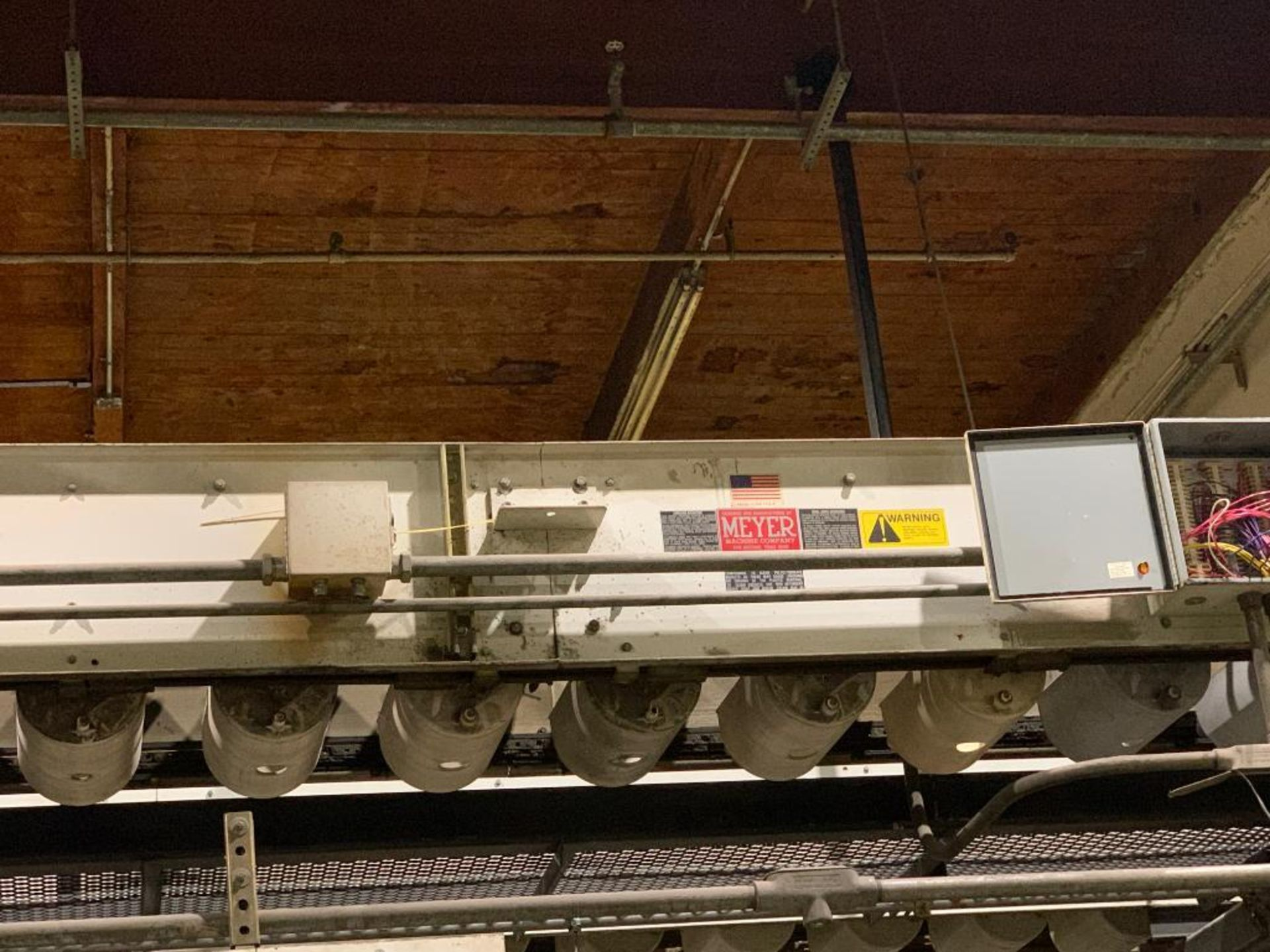 Meyer horizontal bucket conveyor, model PC-172-1213CC - Image 10 of 18