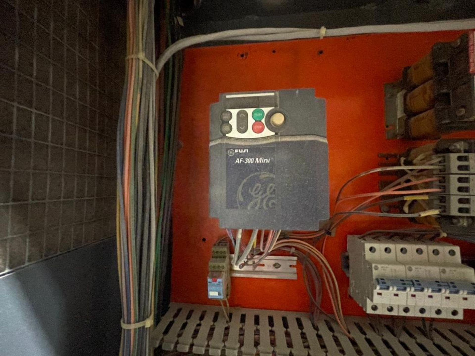 3-door cabinet with PLC and VFD's - Image 4 of 20