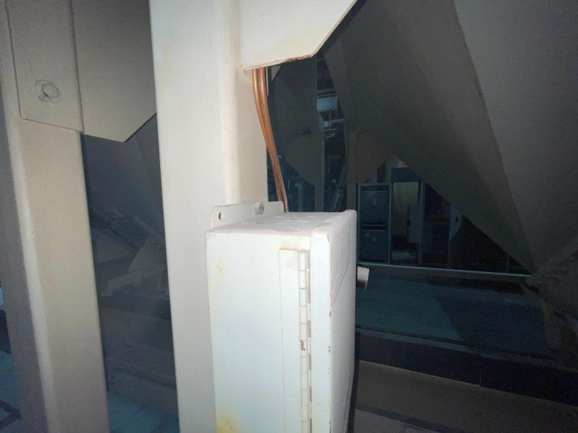 Aseeco mild steel cone bottom bulk storage bin - Image 26 of 31