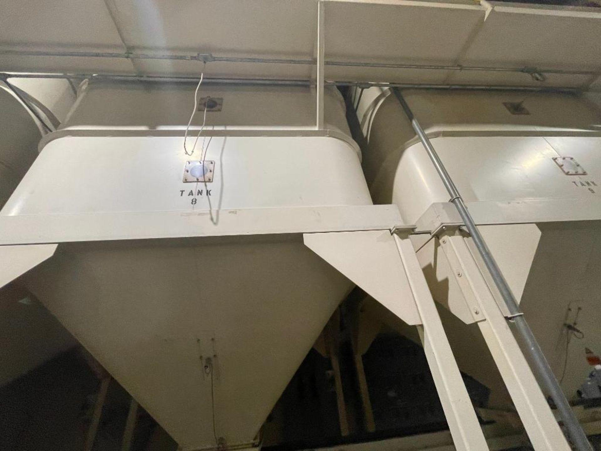 Aseeco mild steel cone bottom bulk storage bin - Image 11 of 28