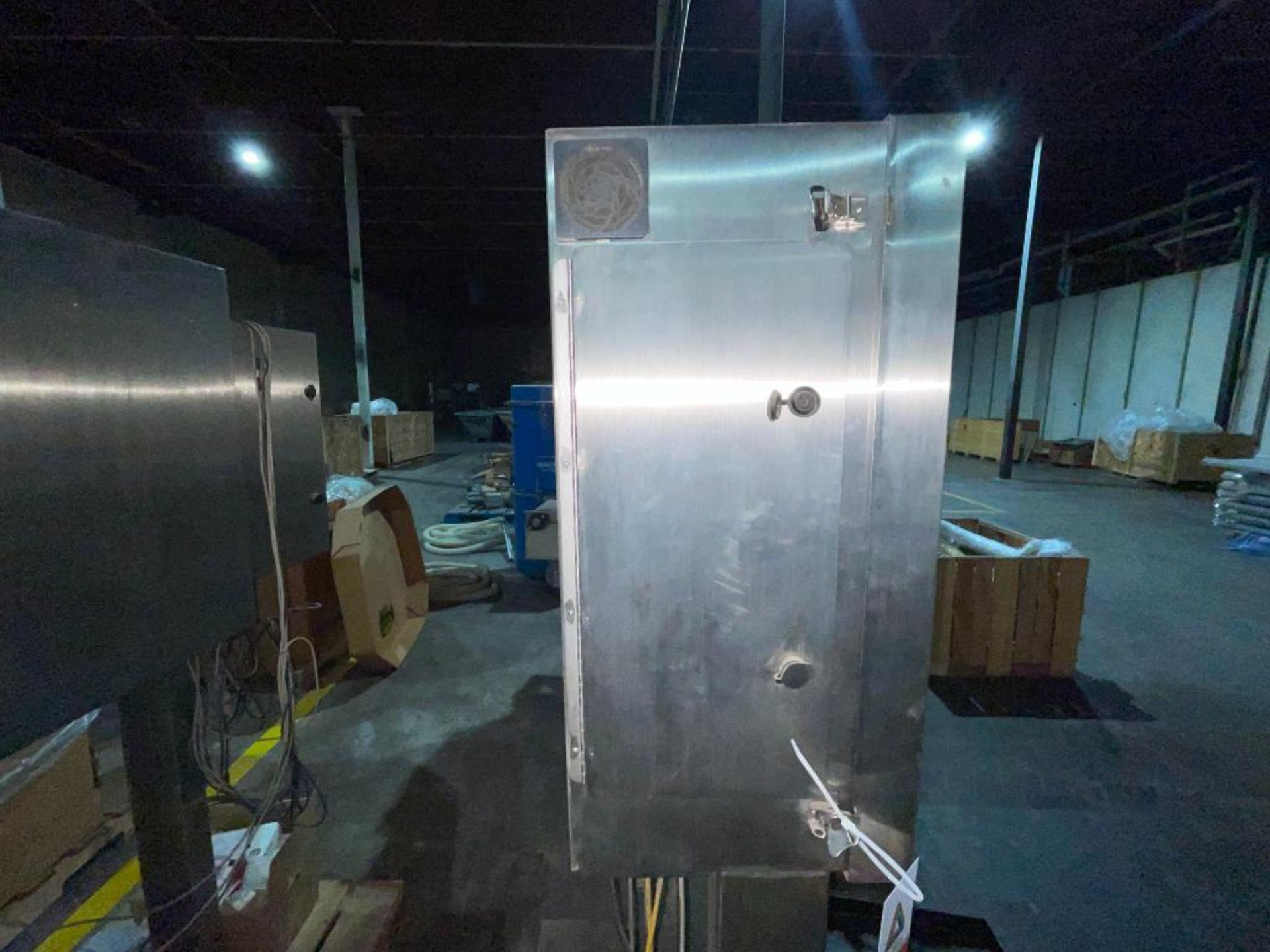 stainless steel pedestal control panel - Image 4 of 20