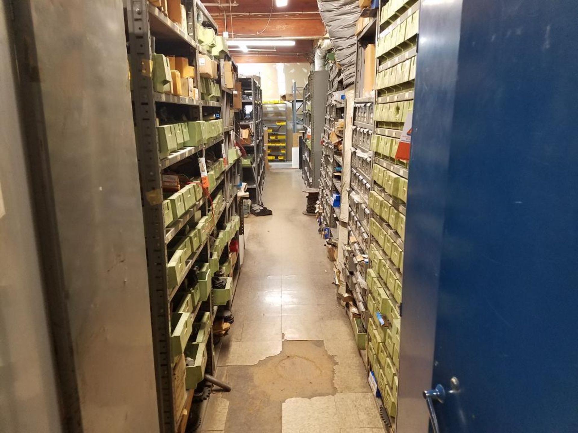 all shelving and storage units located in MRO room - Image 2 of 11
