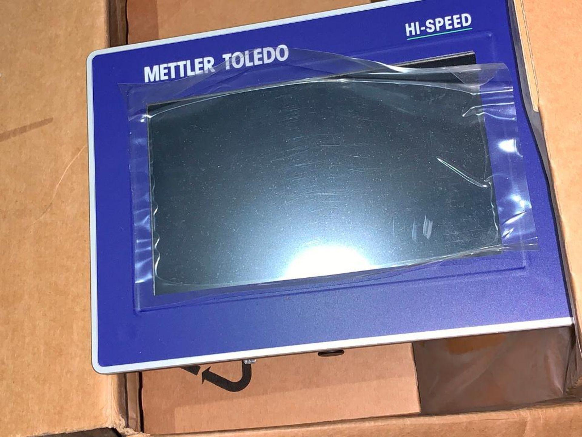 Mettler Toledo screen