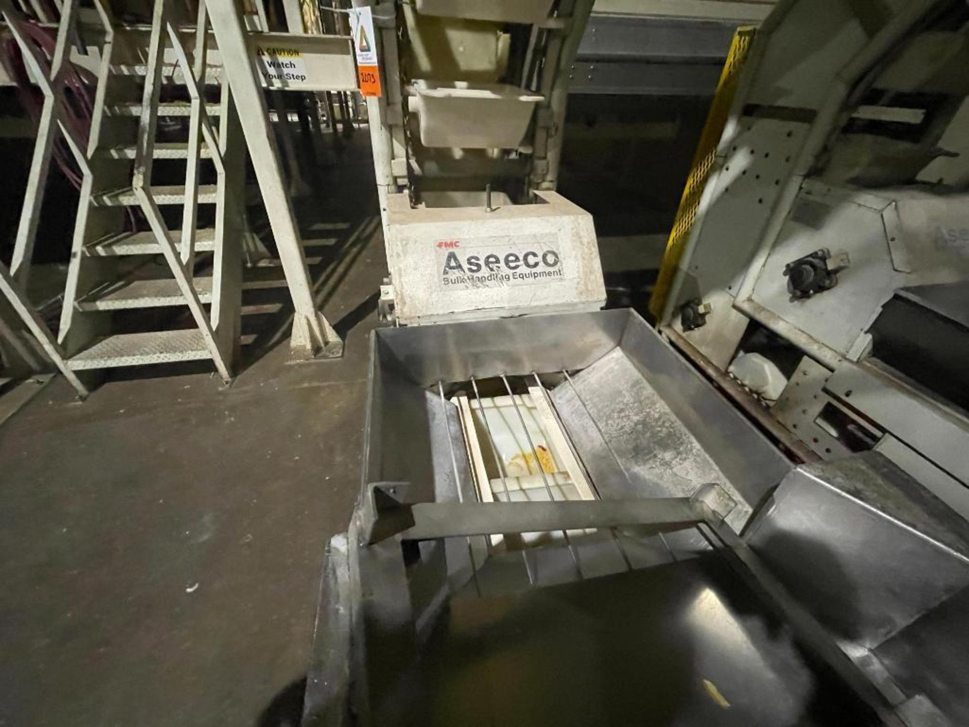 1992 Aseeco overlapping bucket incline conveyor, model ALH-0-12, Z-shape - Image 2 of 11