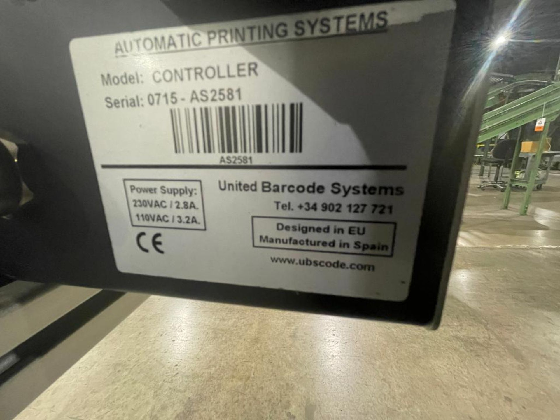 Automatic Printing Systems case coder - Image 3 of 12
