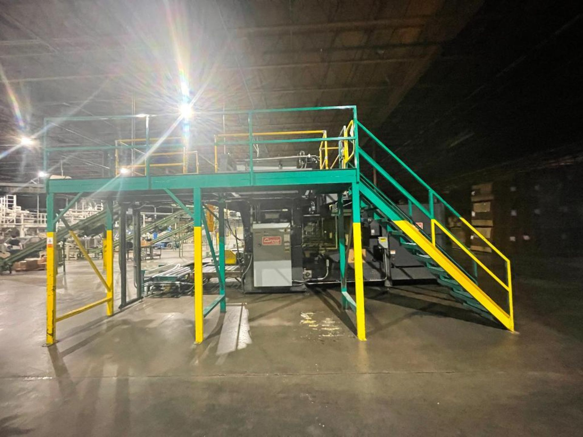 2008 Currie top to bottom palletizer, model PALLETIZER, sn 3348 - Image 2 of 28