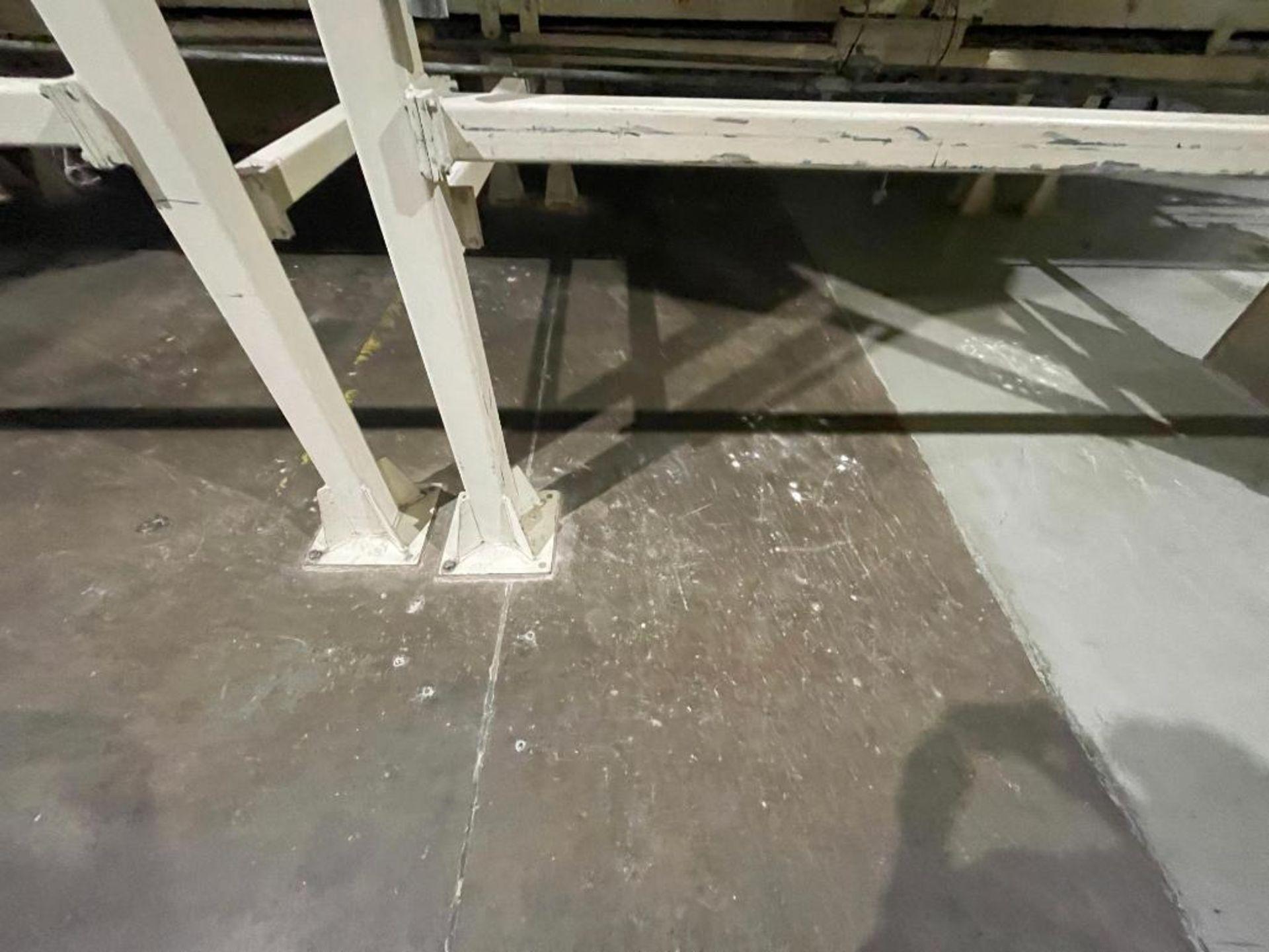 Aseeco mild steel cone bottom bulk storage bin - Image 3 of 31