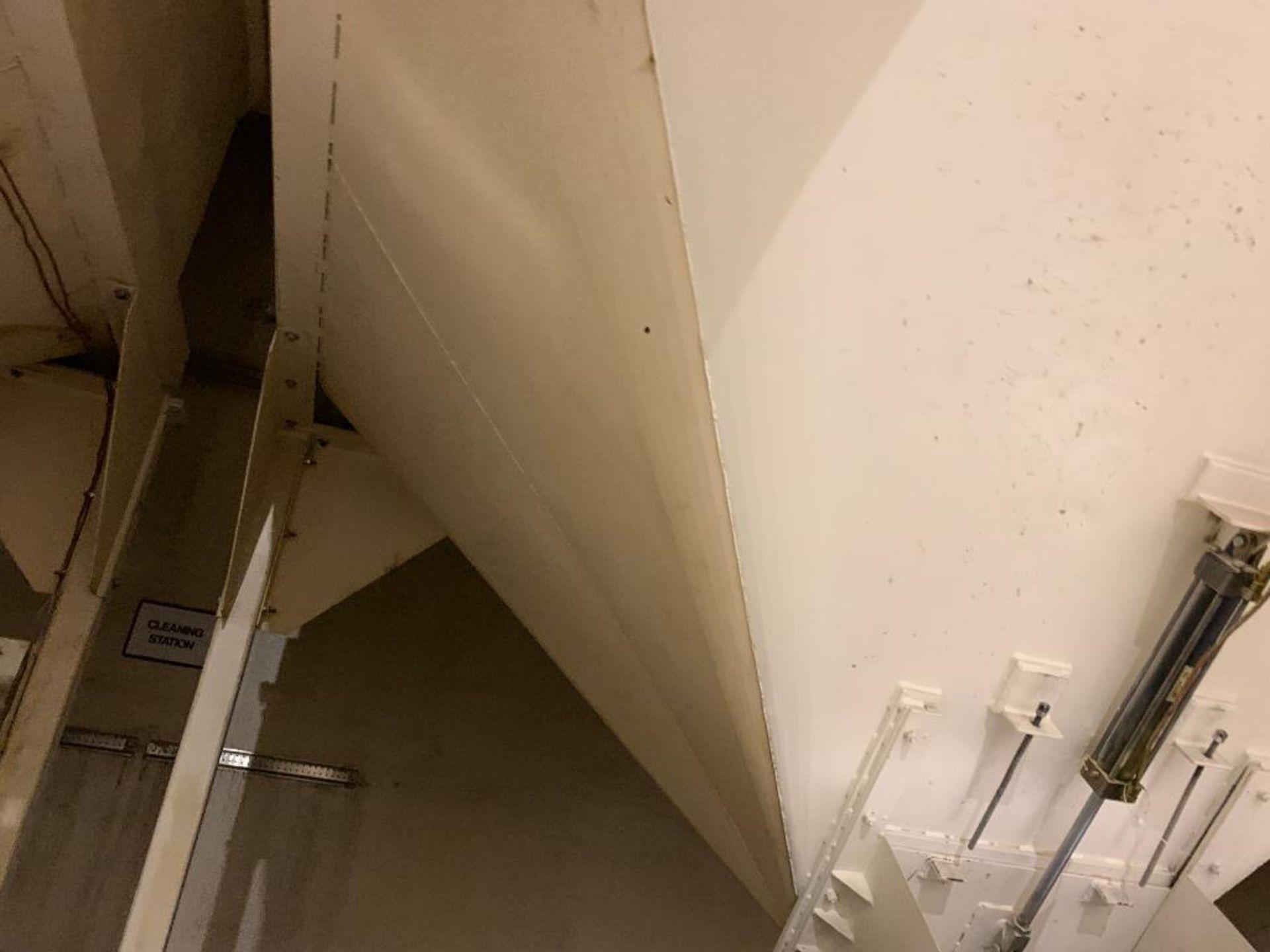 Aseeco mild steel cone bottom bulk storage bin - Image 17 of 25
