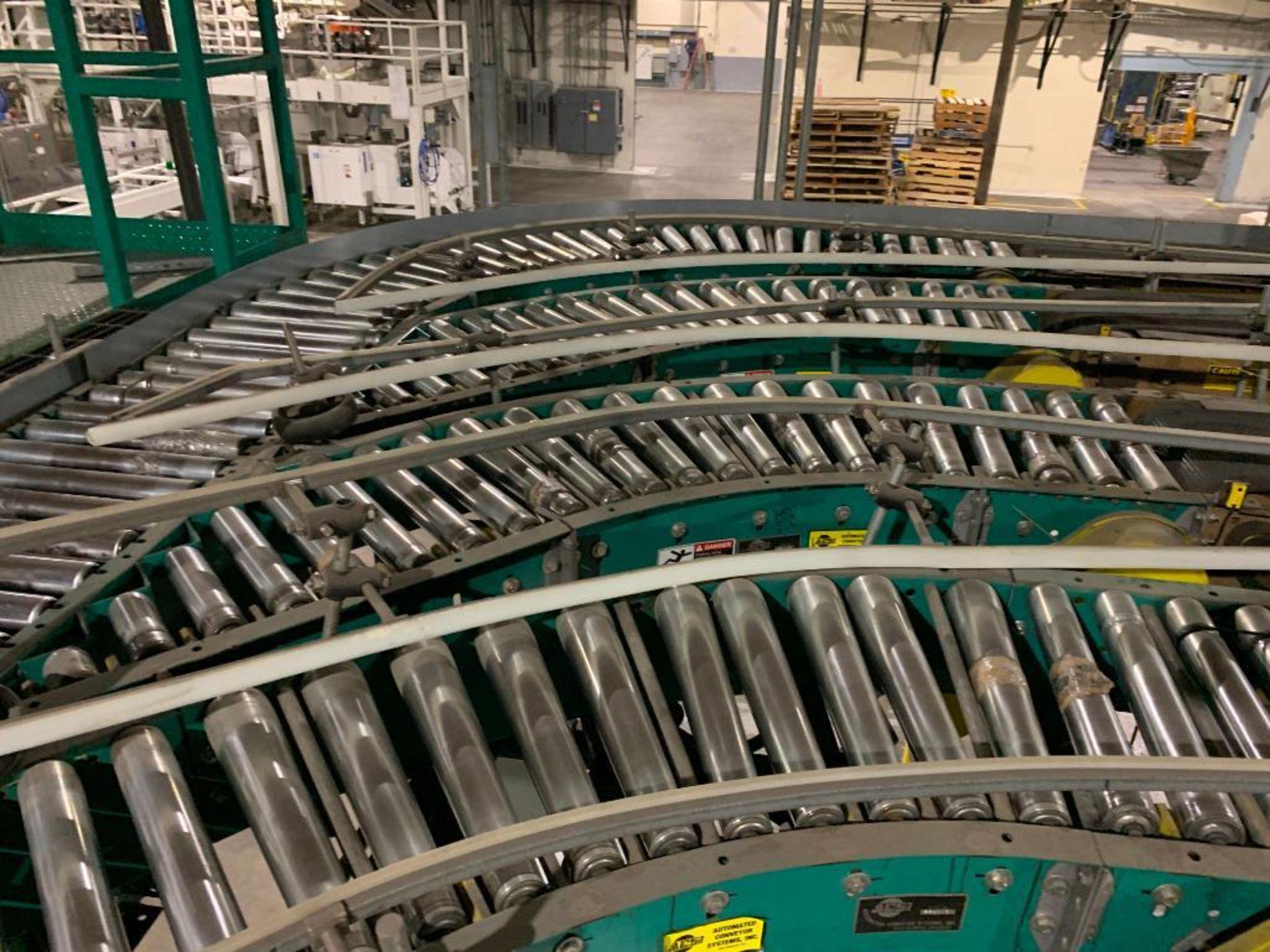 ACS power roller conveyor - Image 4 of 15