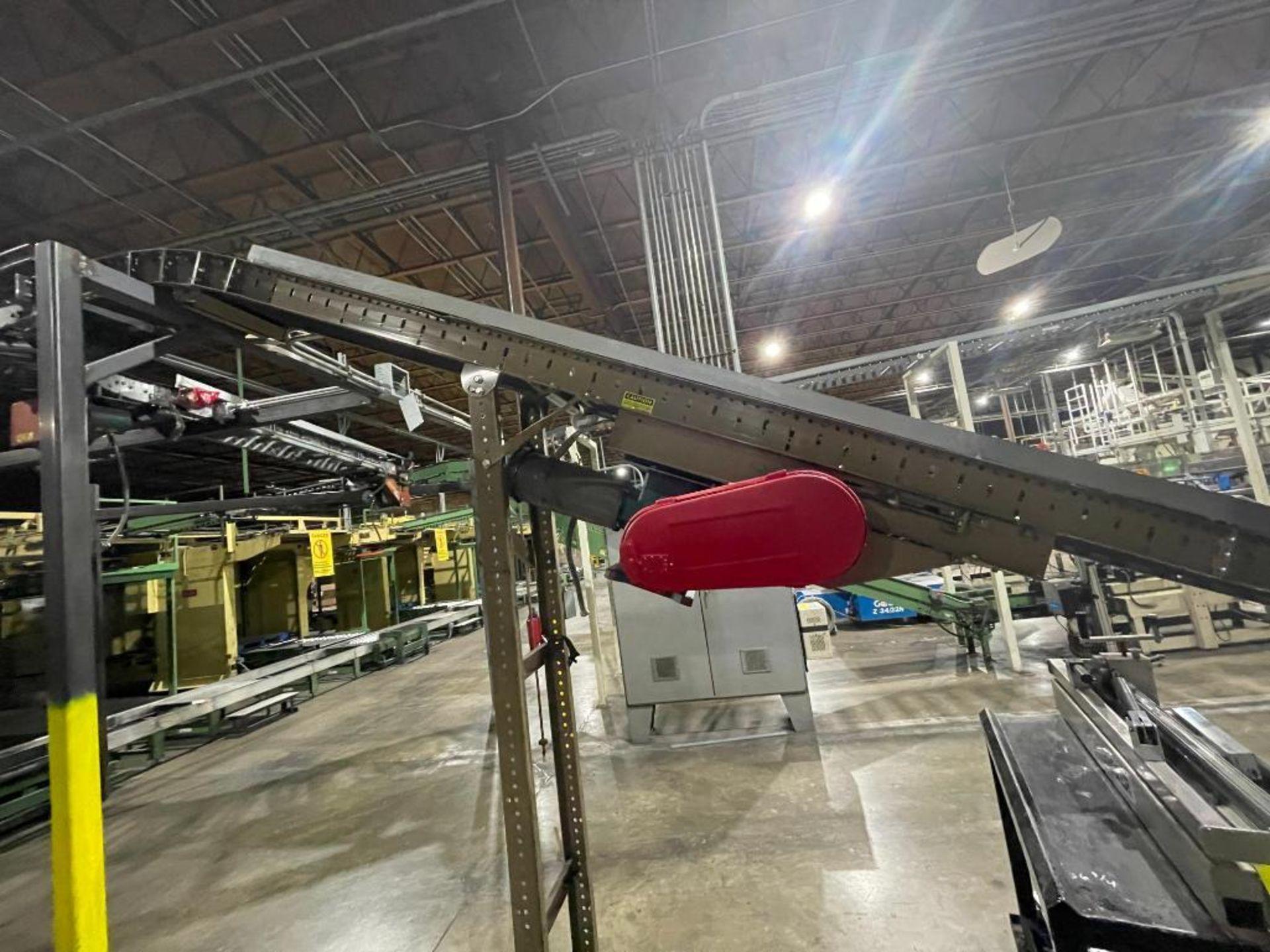 Buschman mild steel incline conveyor - Image 9 of 11