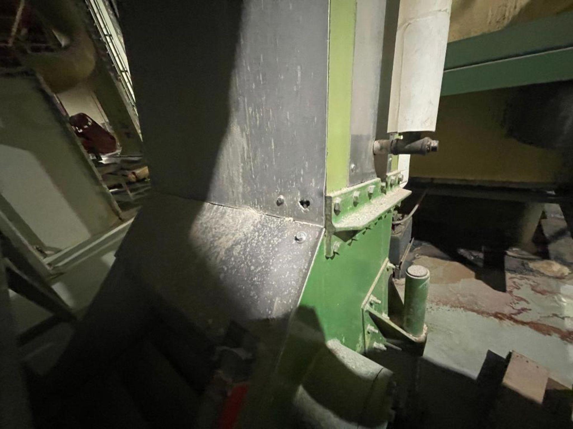 mild steel incline overlapping bucket conveyor - Image 3 of 7
