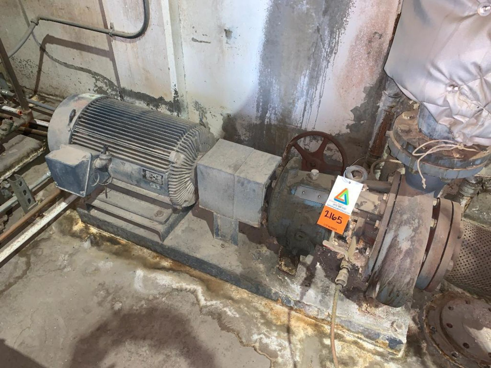 Ingersoll Dresser high temperature water pump - Image 4 of 5
