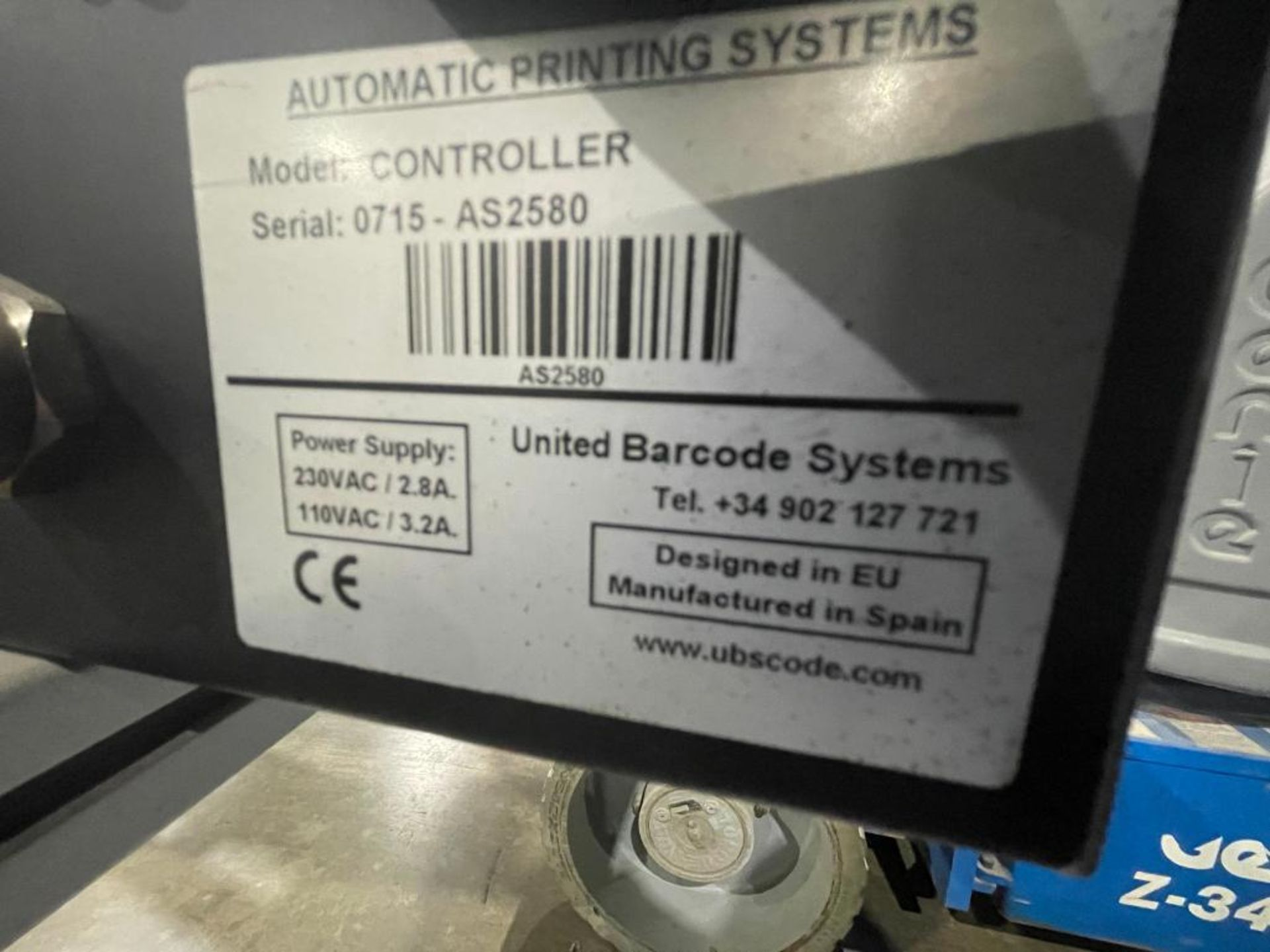 Automatic Printing Systems case coder - Image 4 of 13