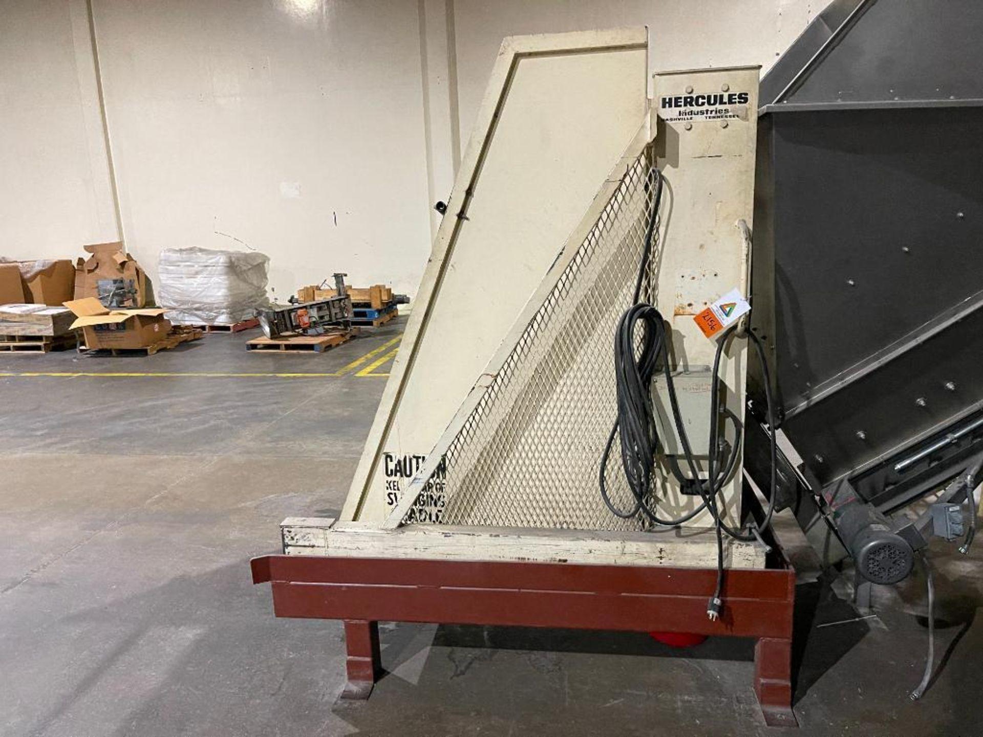 Hercules tote dump, 2,000 LB capacity - Image 2 of 11