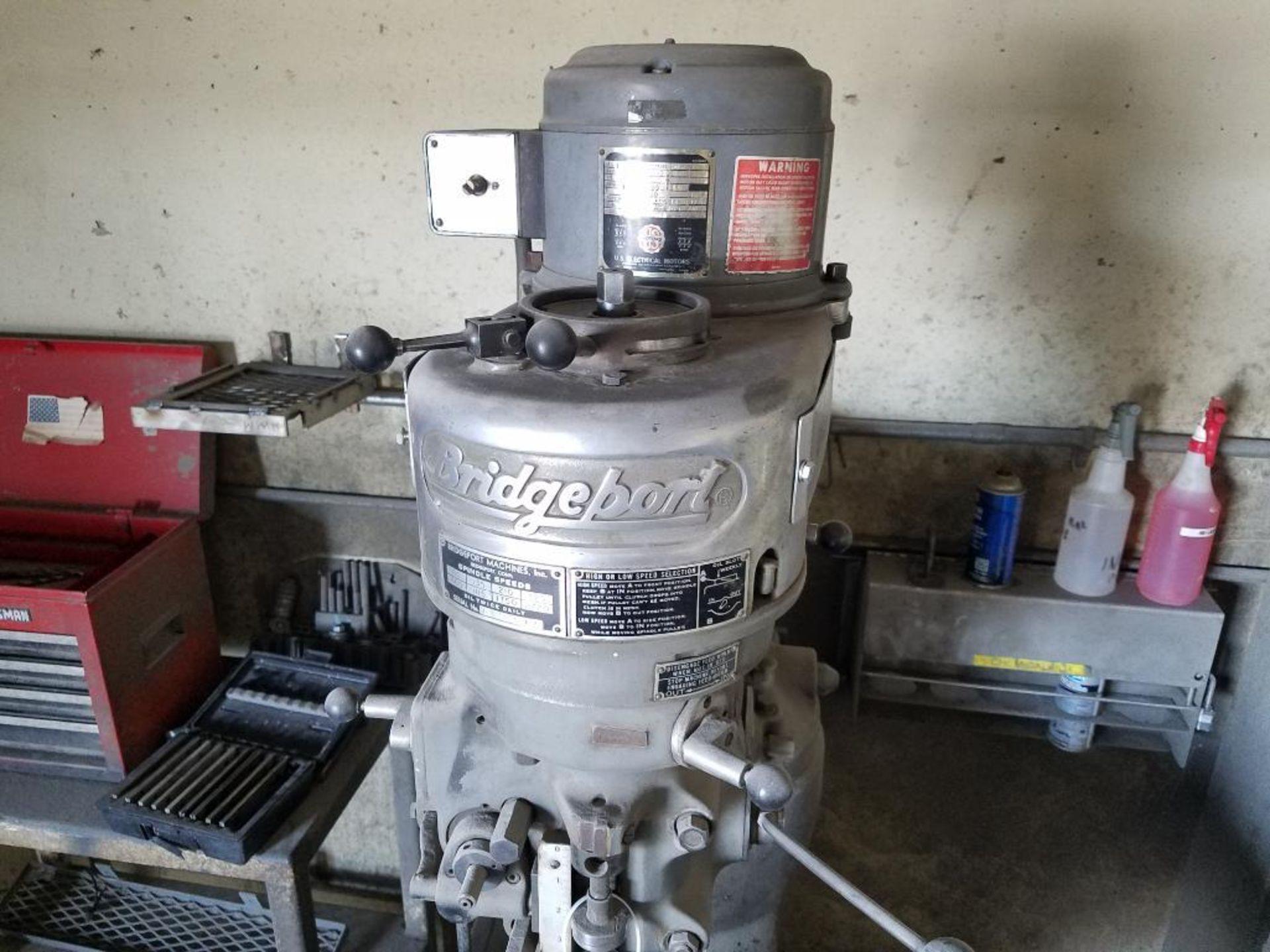 Bridgeport manual mill - Image 4 of 8