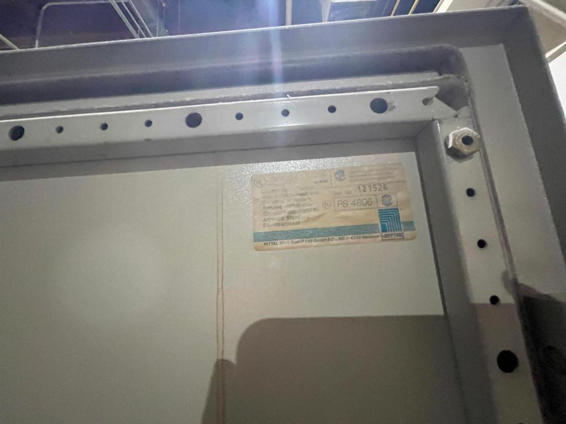 7-door mild steel air conditioned control cabinet, 5-VFD's - Image 32 of 43