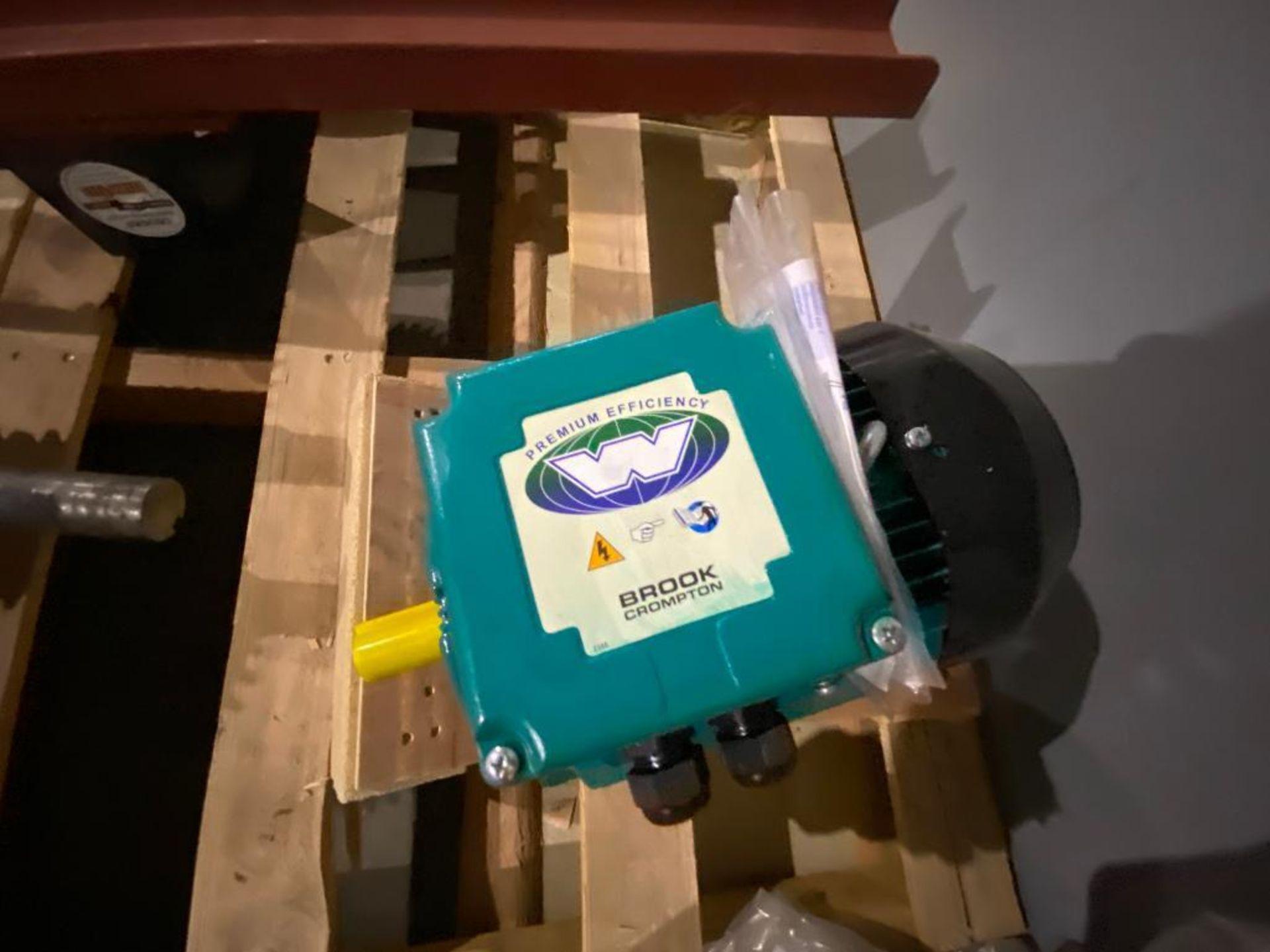 unused Brook Crompton electric motor - Image 3 of 3