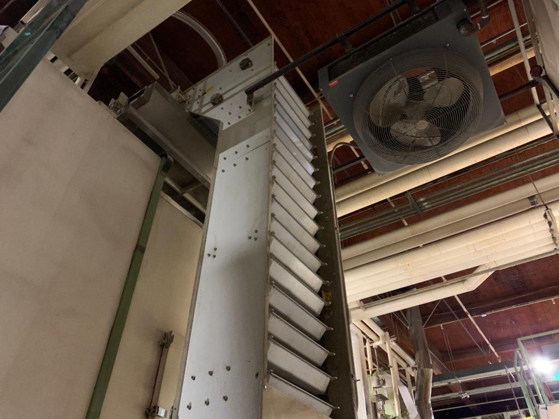 Meyer overlapping bucket elevator, model PA462-24-S - Image 3 of 13