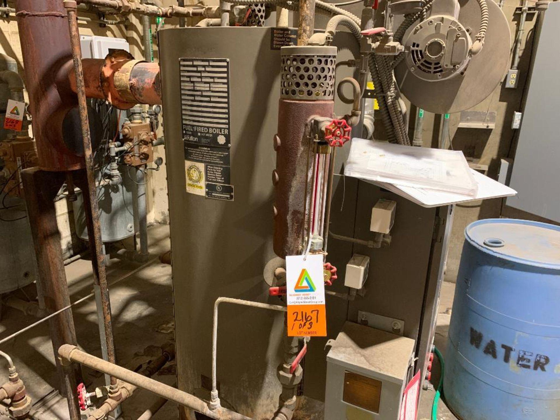 2014 Fulton steam boiler - Image 2 of 23