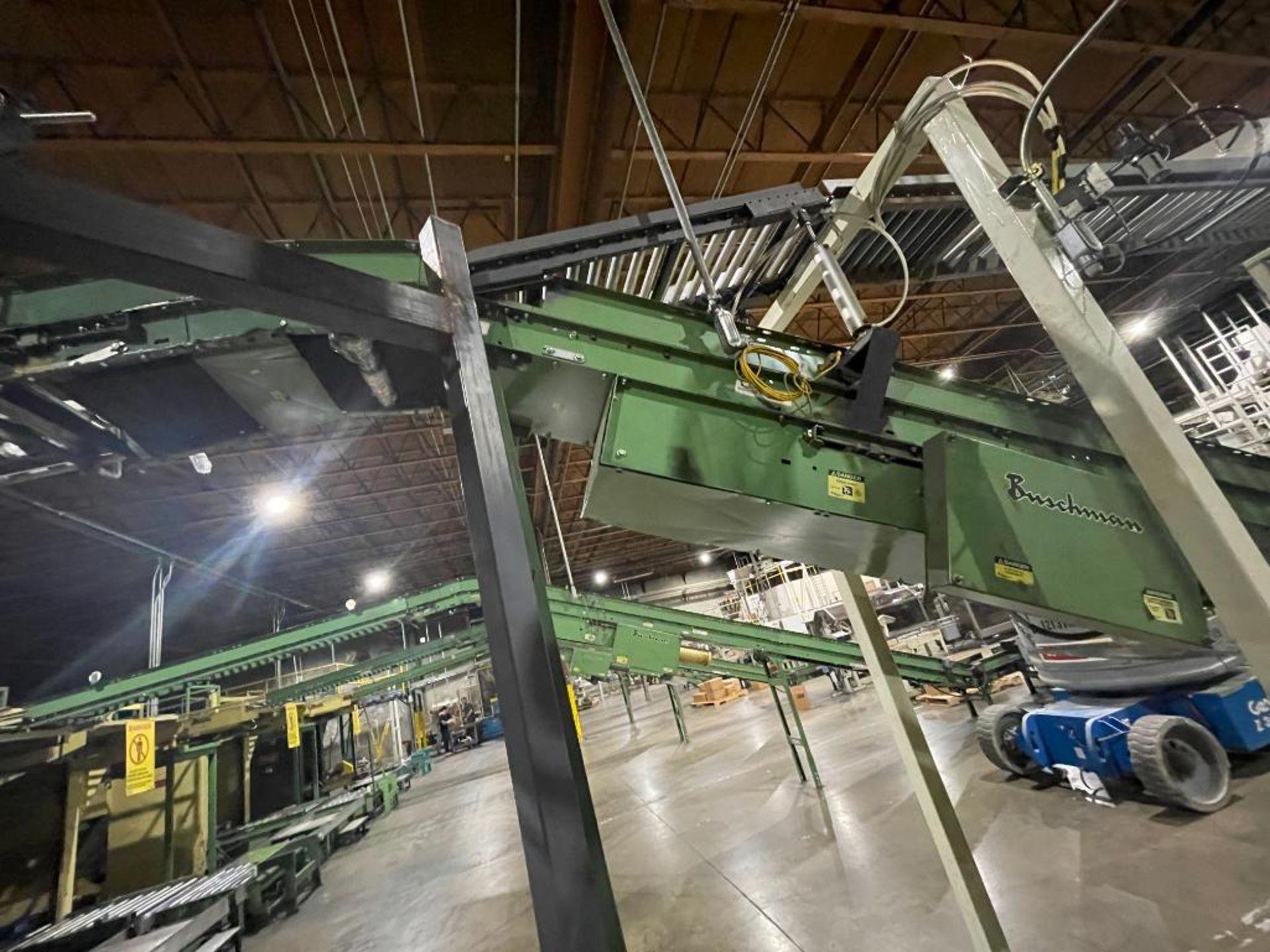 Buschman mild steel incline conveyor - Image 12 of 17