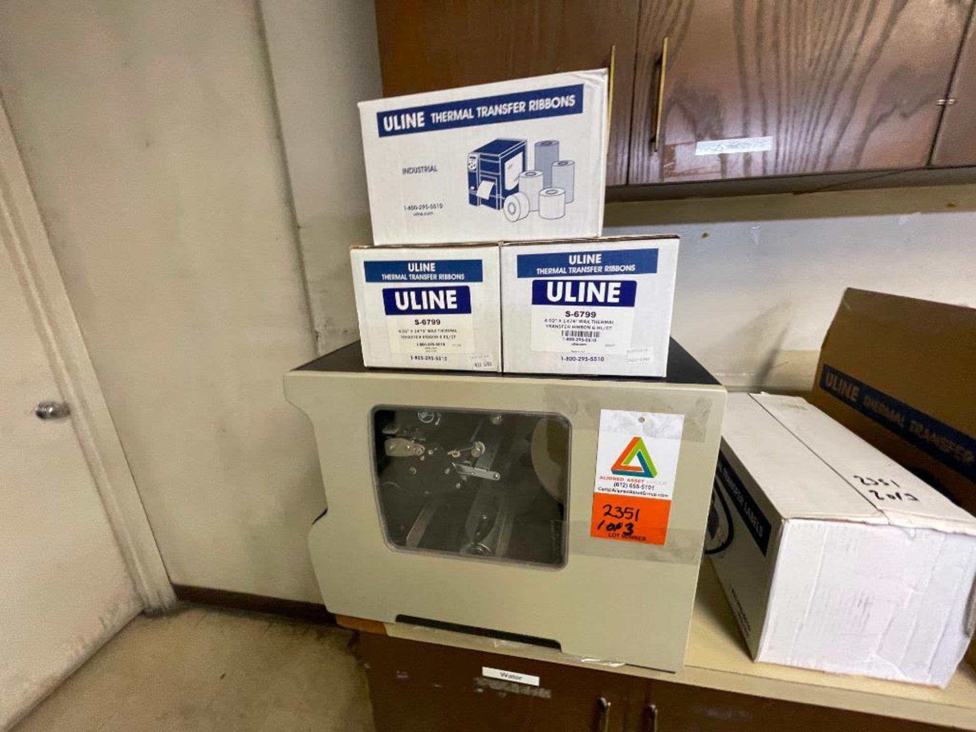 Zebra label printer - Image 2 of 9